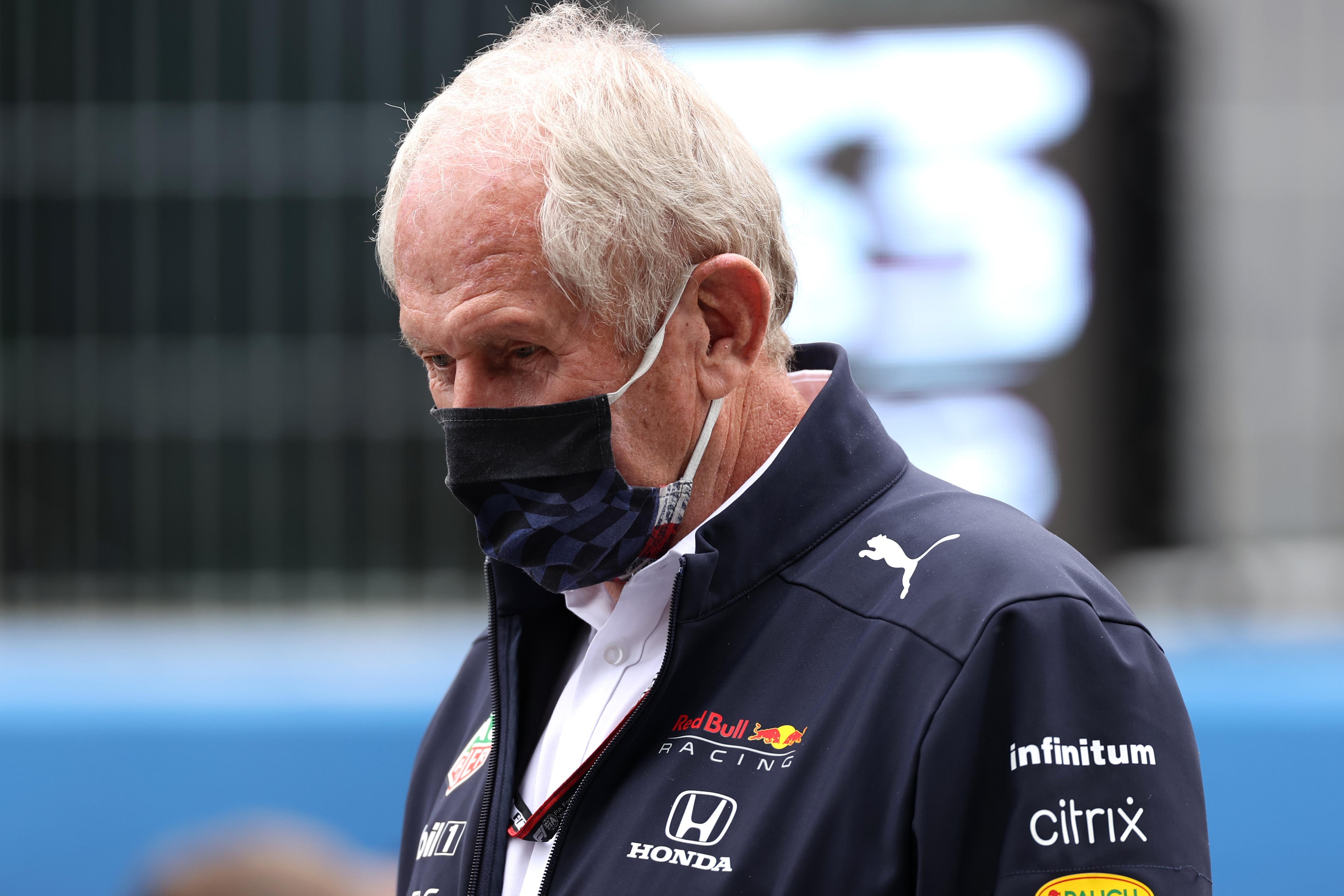 Helmut Marko, 2021 Spanish GP