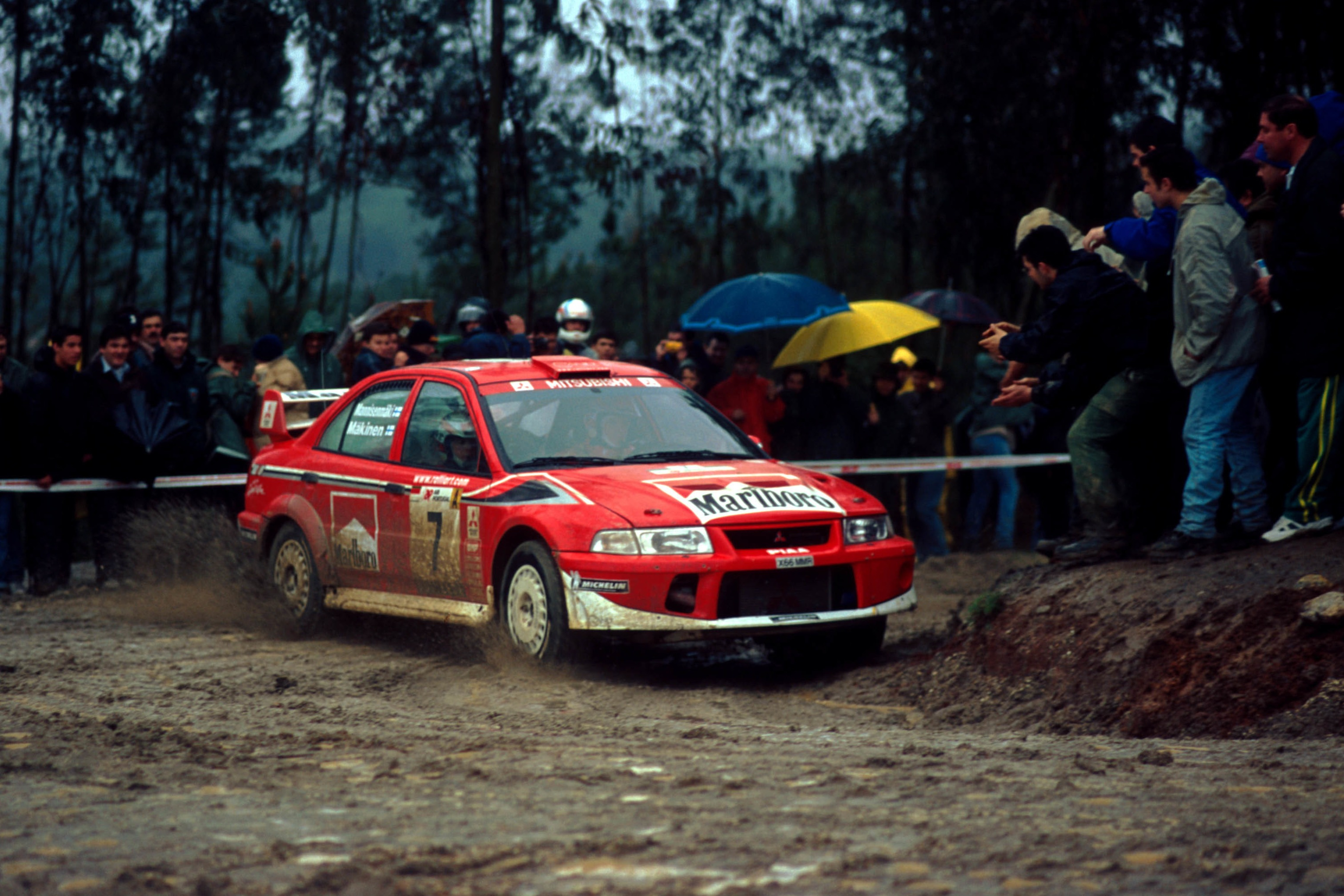 Tommi Makinen, 2001 Rally Portugal