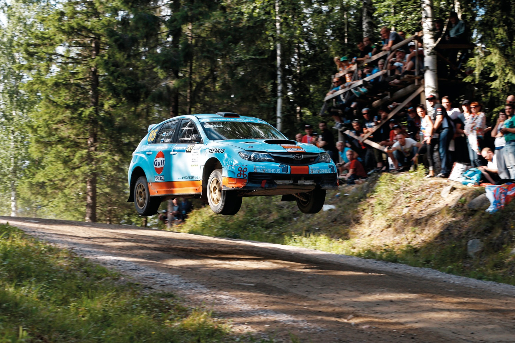 Juha Salo, 2013 Rally Finland