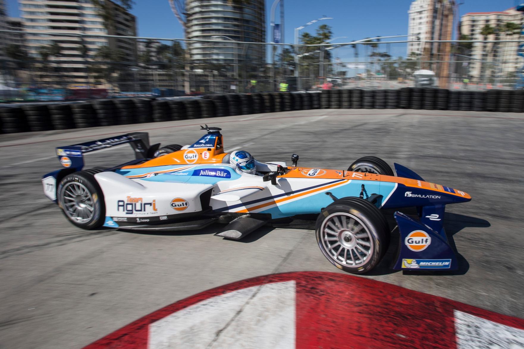 Salvador Duran, Aguri Formula E 2016 Long Beach