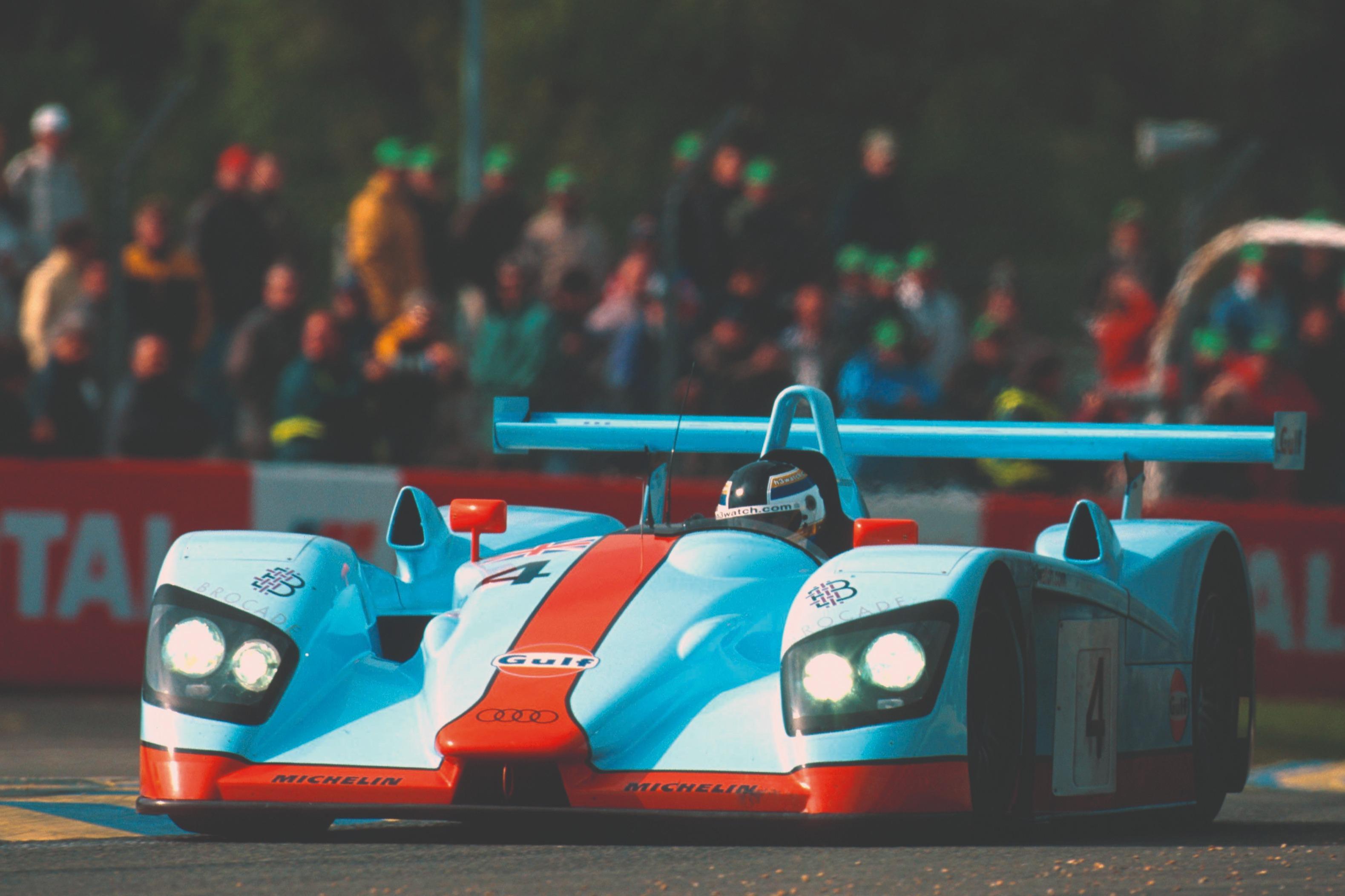 Stefan Johansson, Audi R8 Le Mans 24 Hours 2001