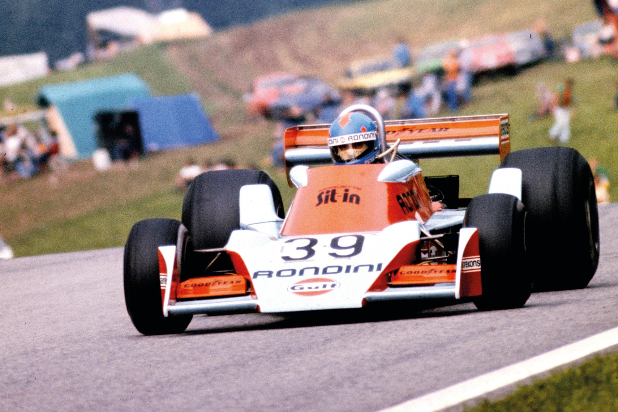 Alessandro Pesenti-Rossi, Tyrrell 1976 Austrian GP