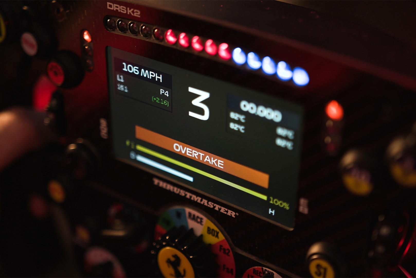 Thrustmaster Ferrari SF1000 Wheel Add-on LCD Display