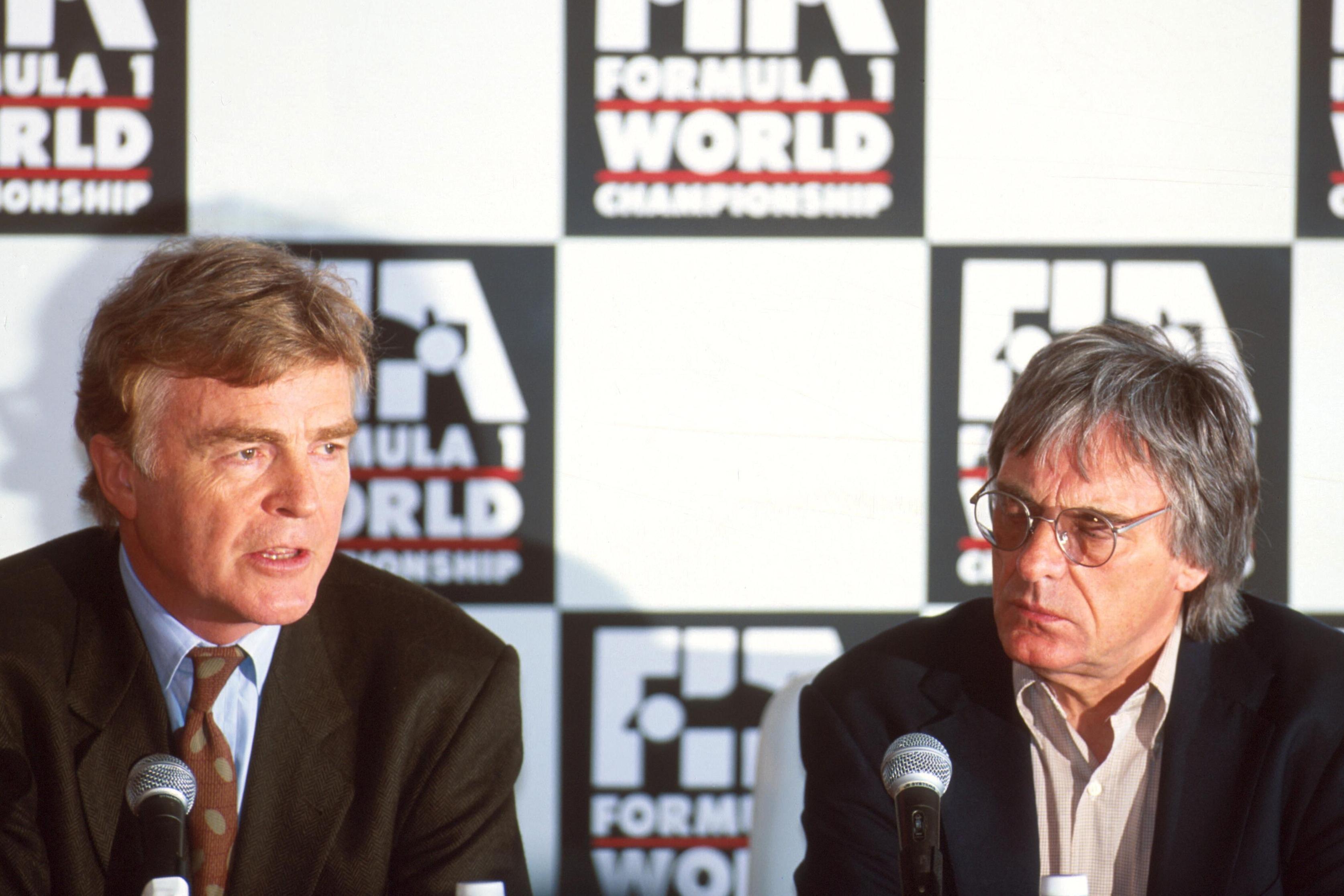 Max Mosley, Bernie Ecclestone 1994