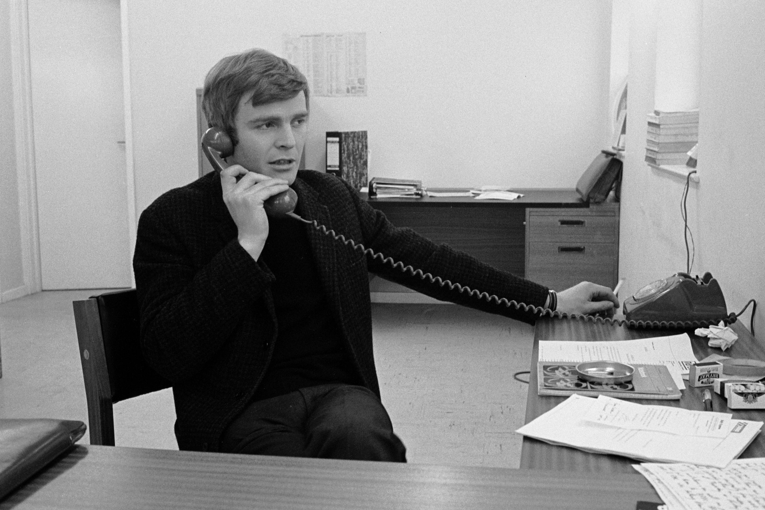 Max Mosley, March offices 1970