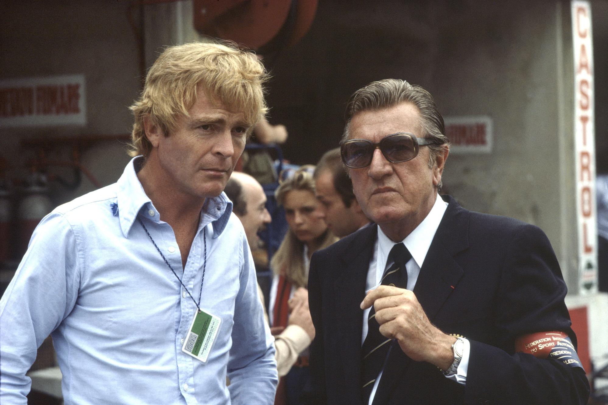 Max Mosley, Jean-Marie Balestre 1981 Italian GP