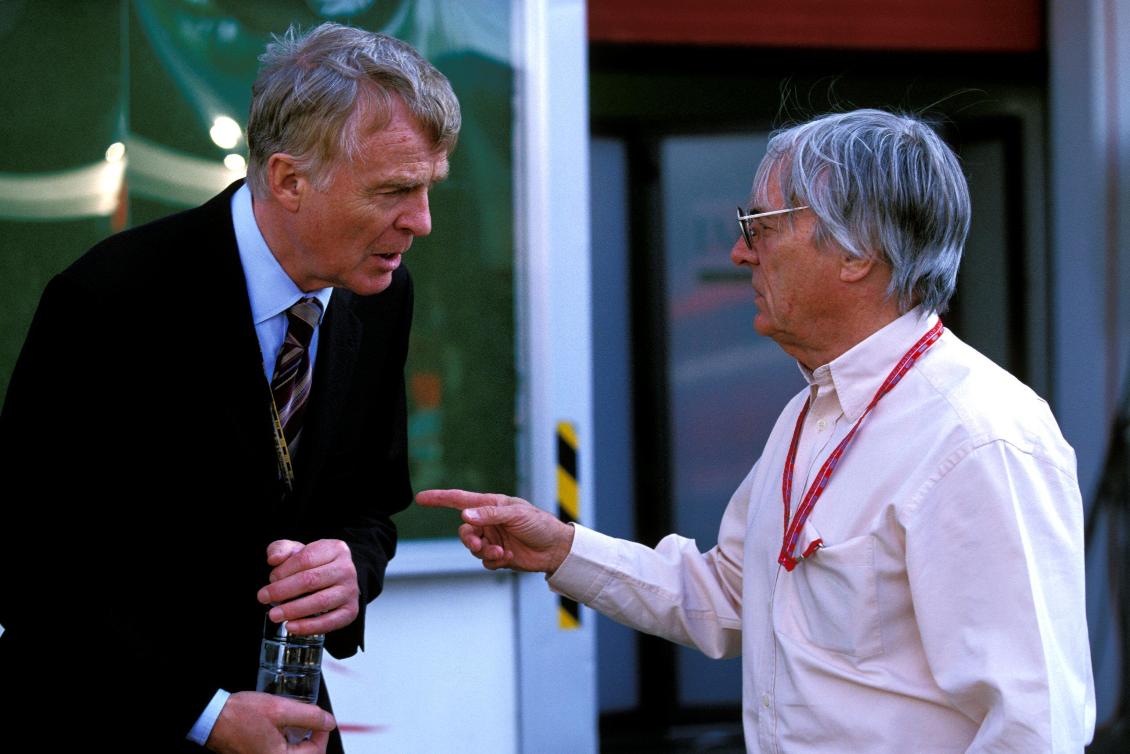 Max Mosley, Bernie Ecclestone 2003 San Marino GP