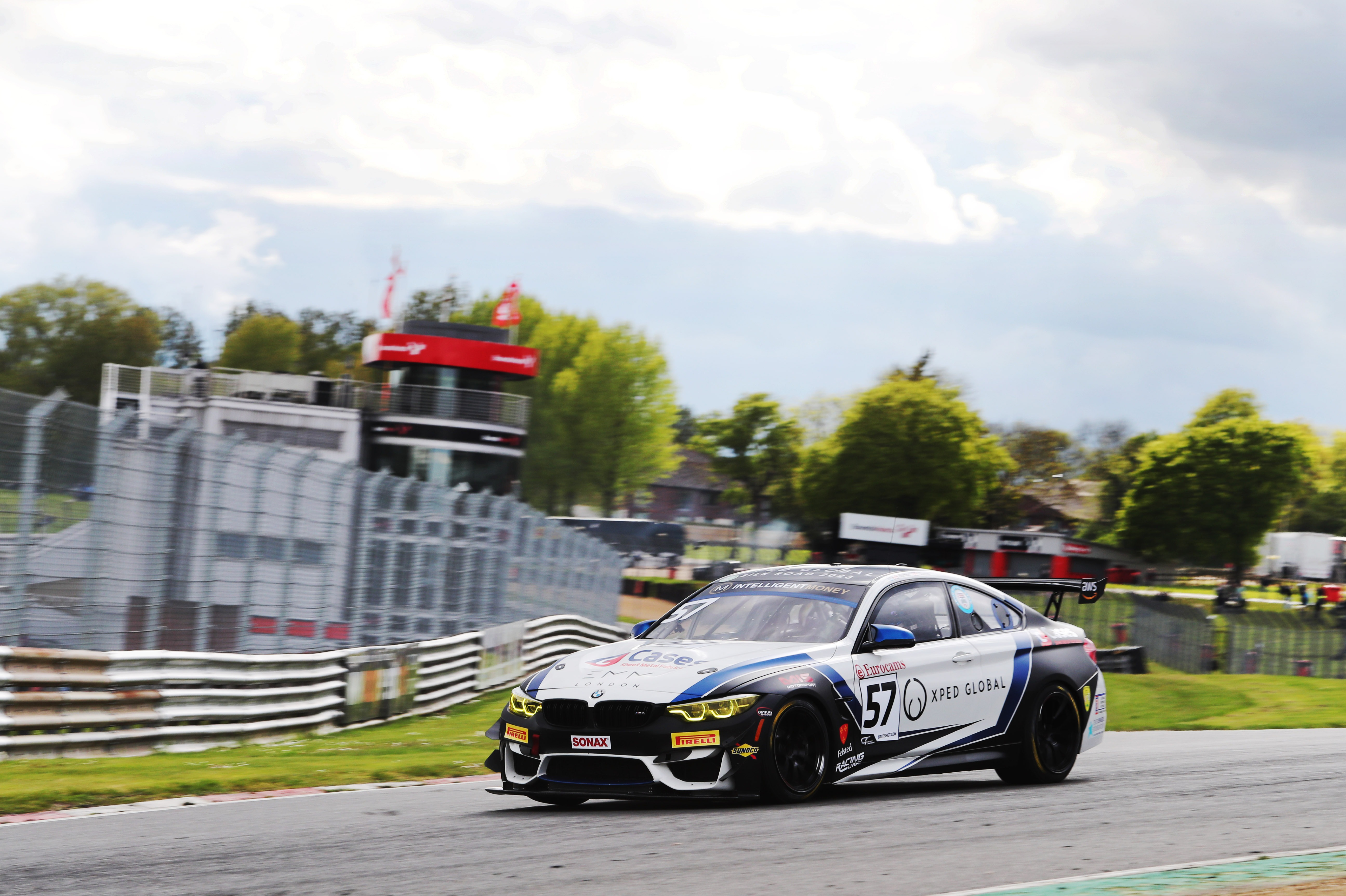 It was a successful start for Century BMW pair Will Burns and Gus Burton