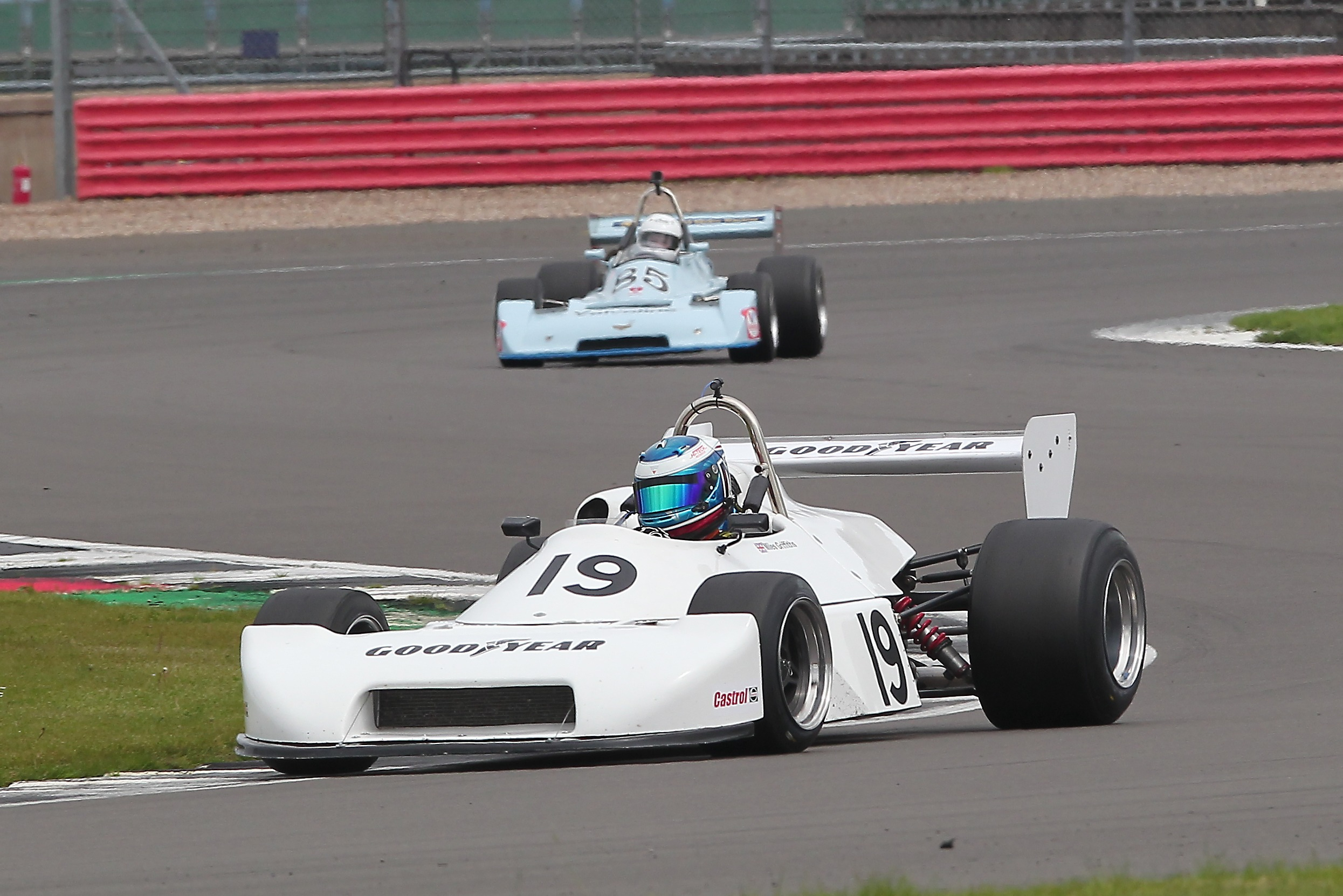 Miles Griffiths was in dominant form in Historic F2