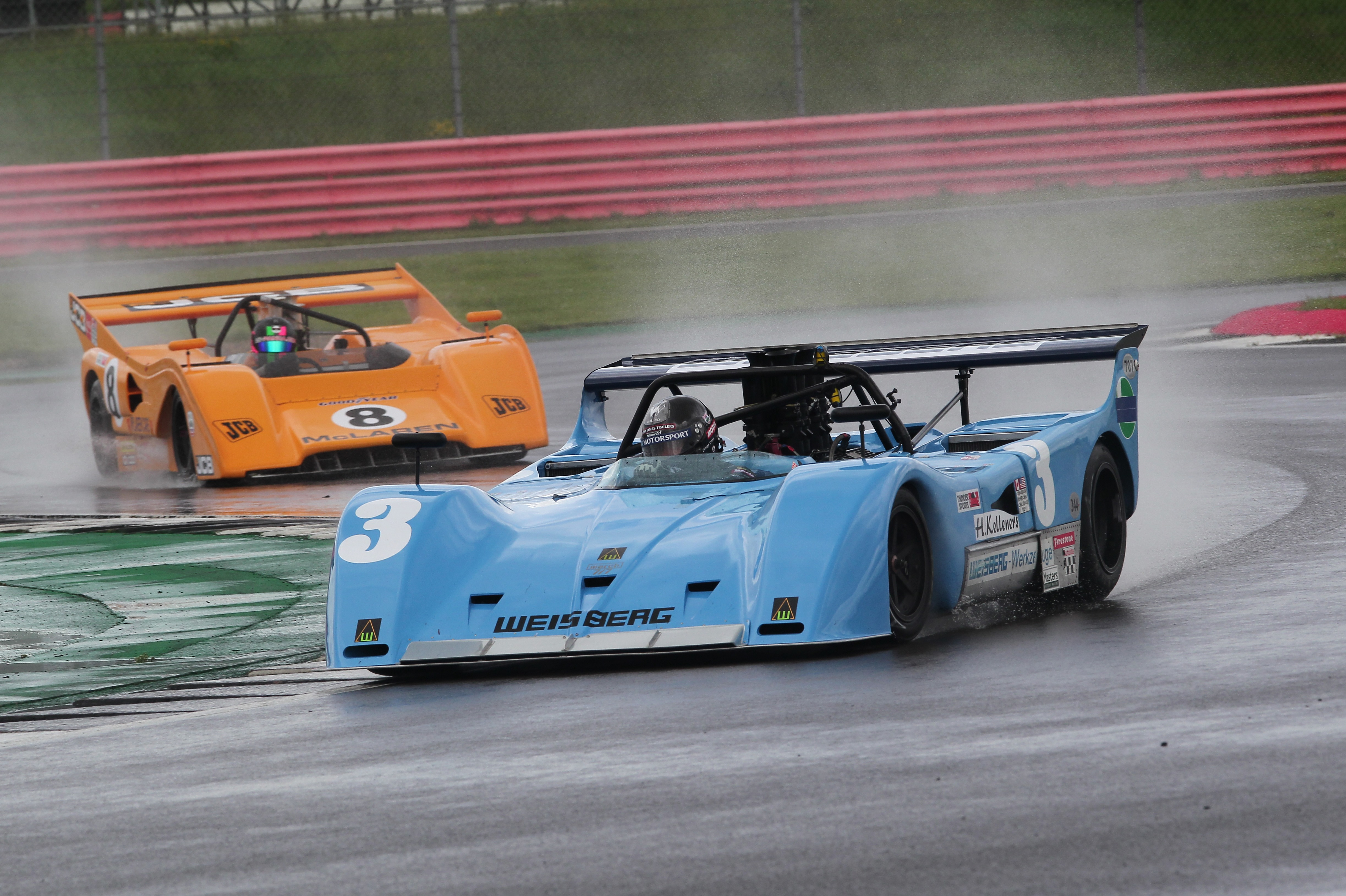 Calum Lockie added two Thundersports triumphs to his GTSCC victory