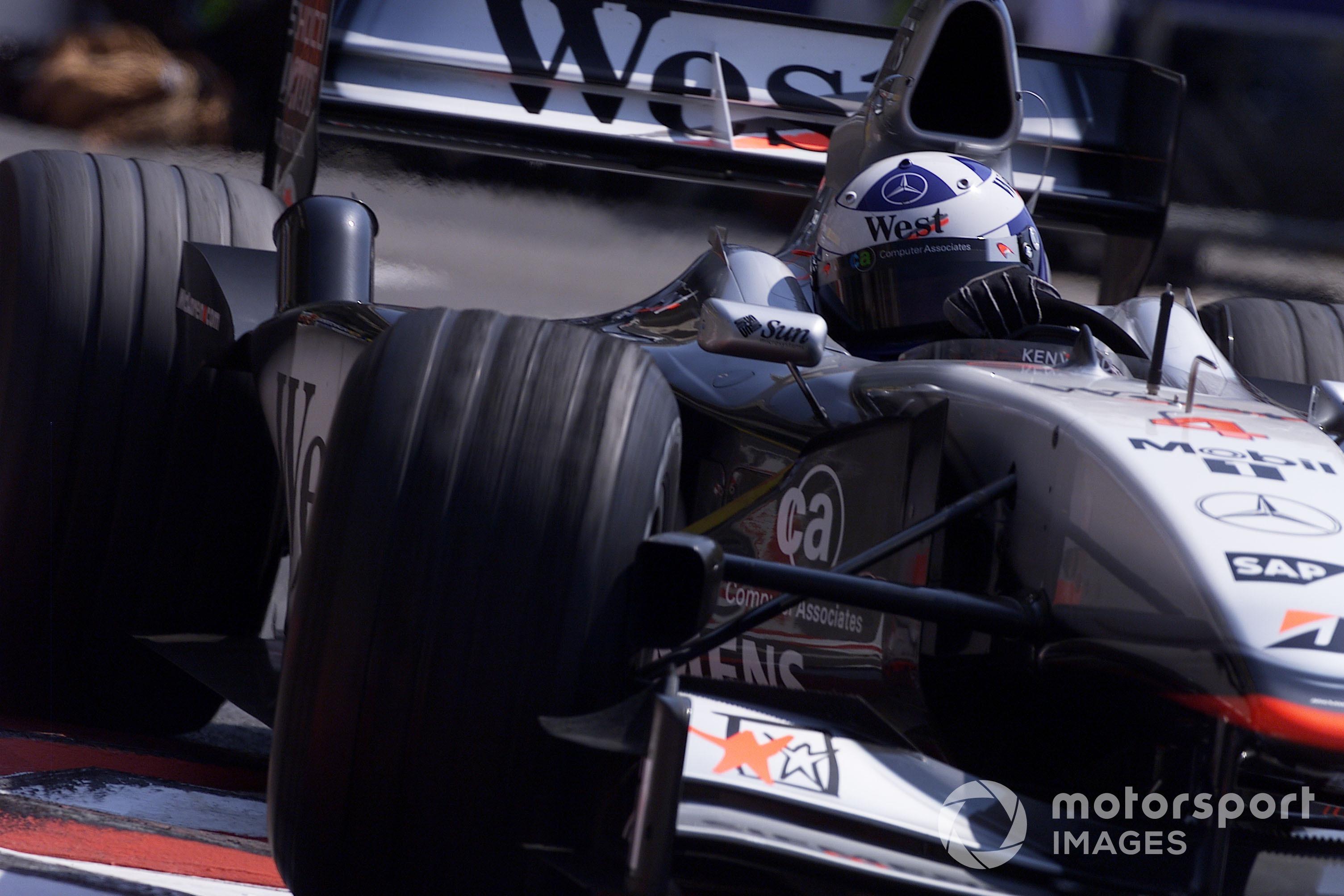 David Coulthard (McLaren MP4/16 Mercedes), 2001 Monaco GP