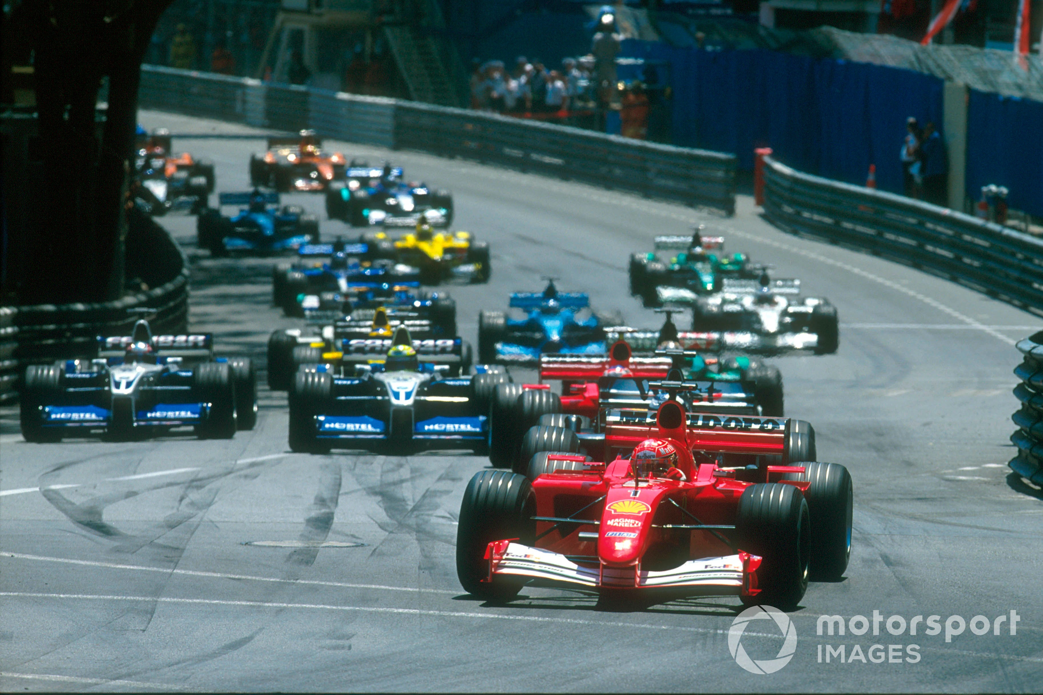 Michael Schumacher, Ferrari F2001, 2001 Monaco GP