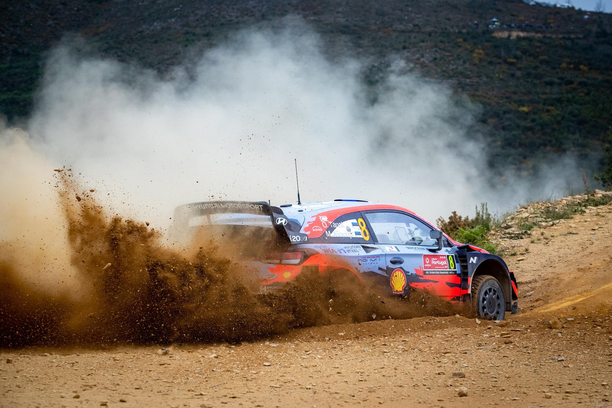 Ott Tanak, 2021 Rally Portugal