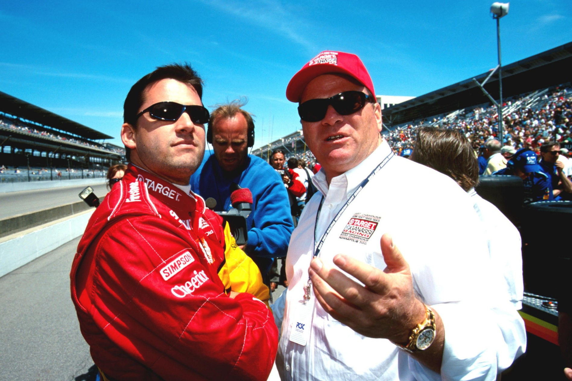 Tony Stewart, Chip Ganassi 2001 Indy 500