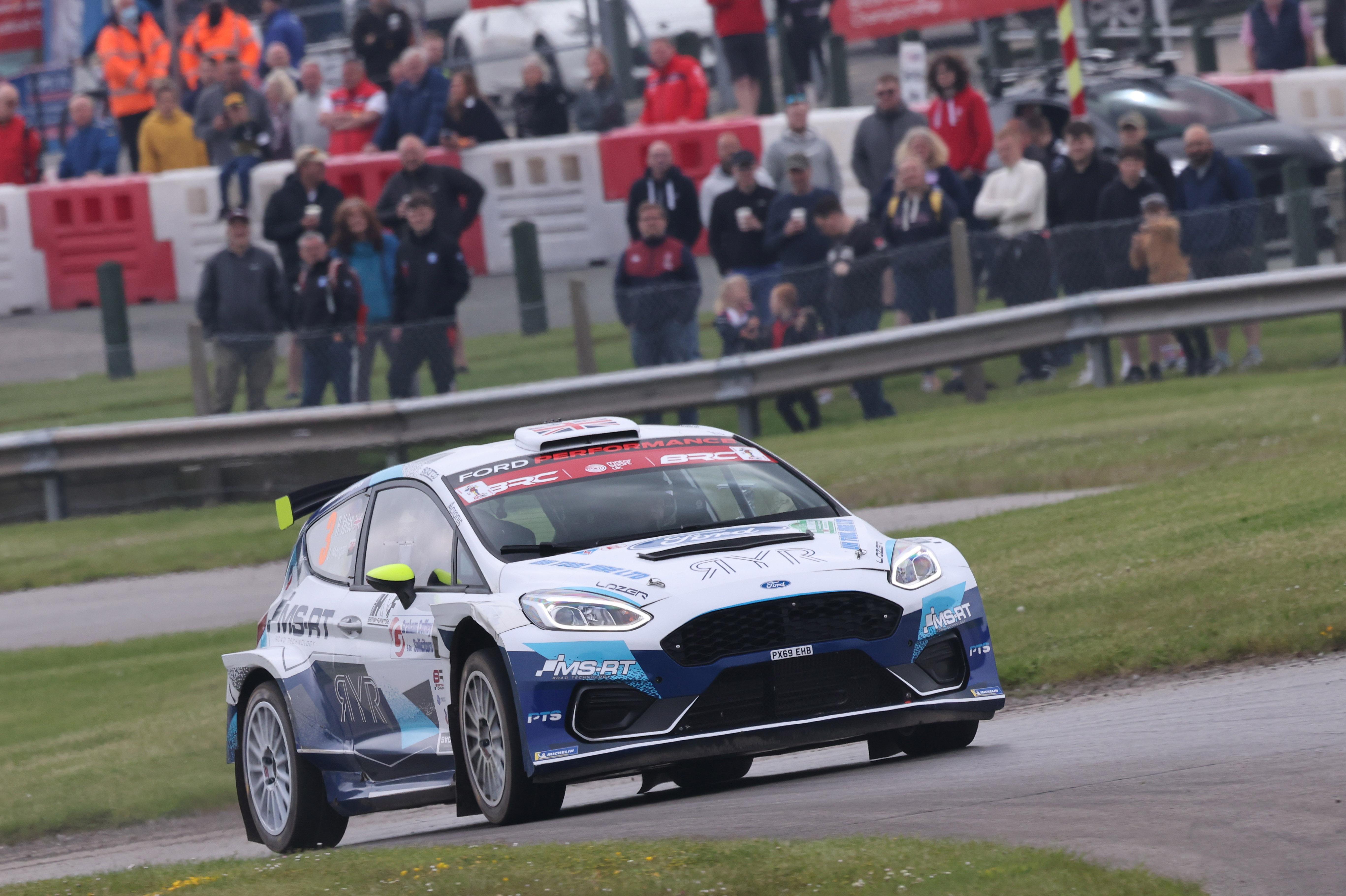 Rhys Yates/James Morgan (Fiesta Rally2), BRC Oulton Park 2021