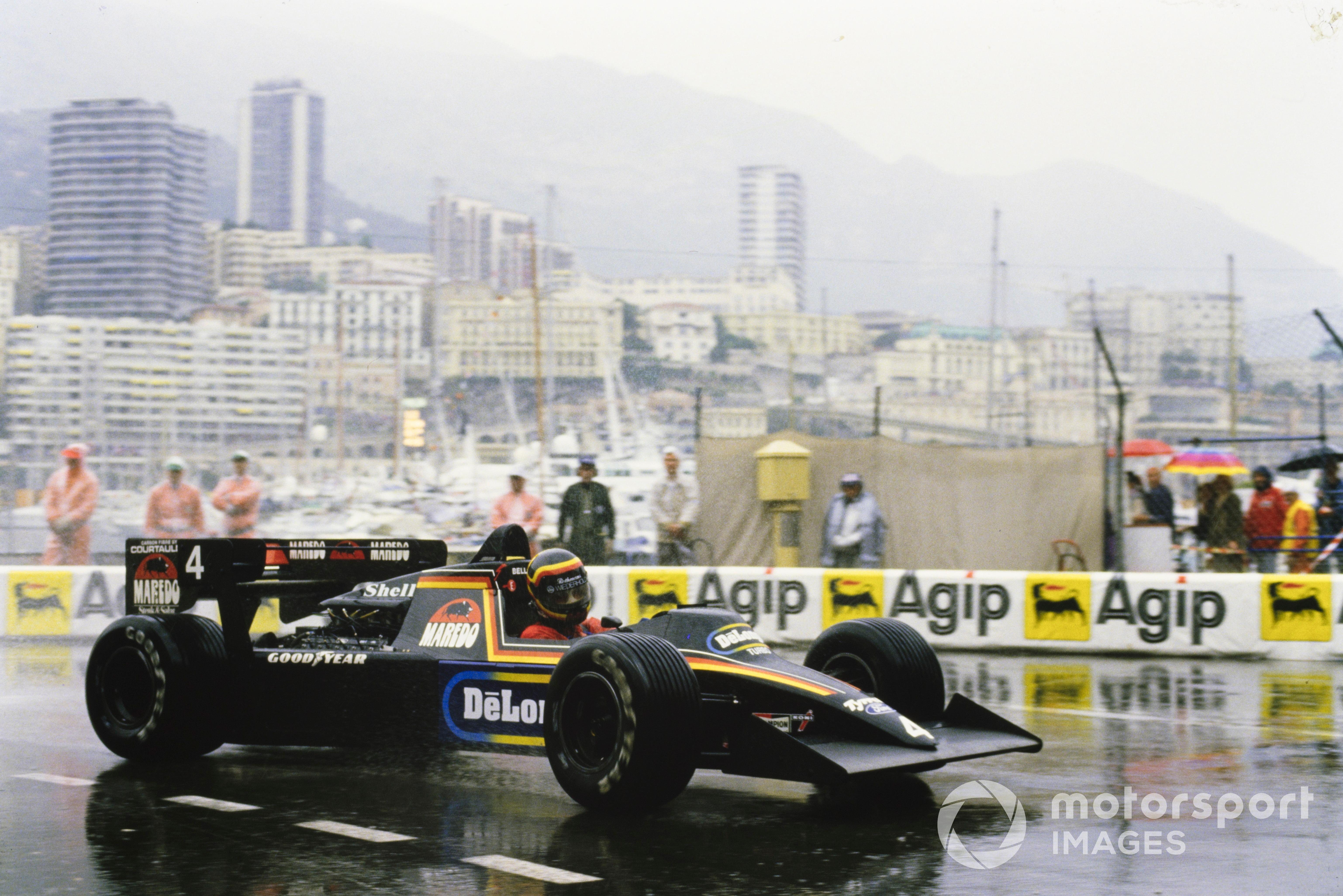 Stefan Bellof, Tyrrell 012 Ford, 1984 Monaco GP