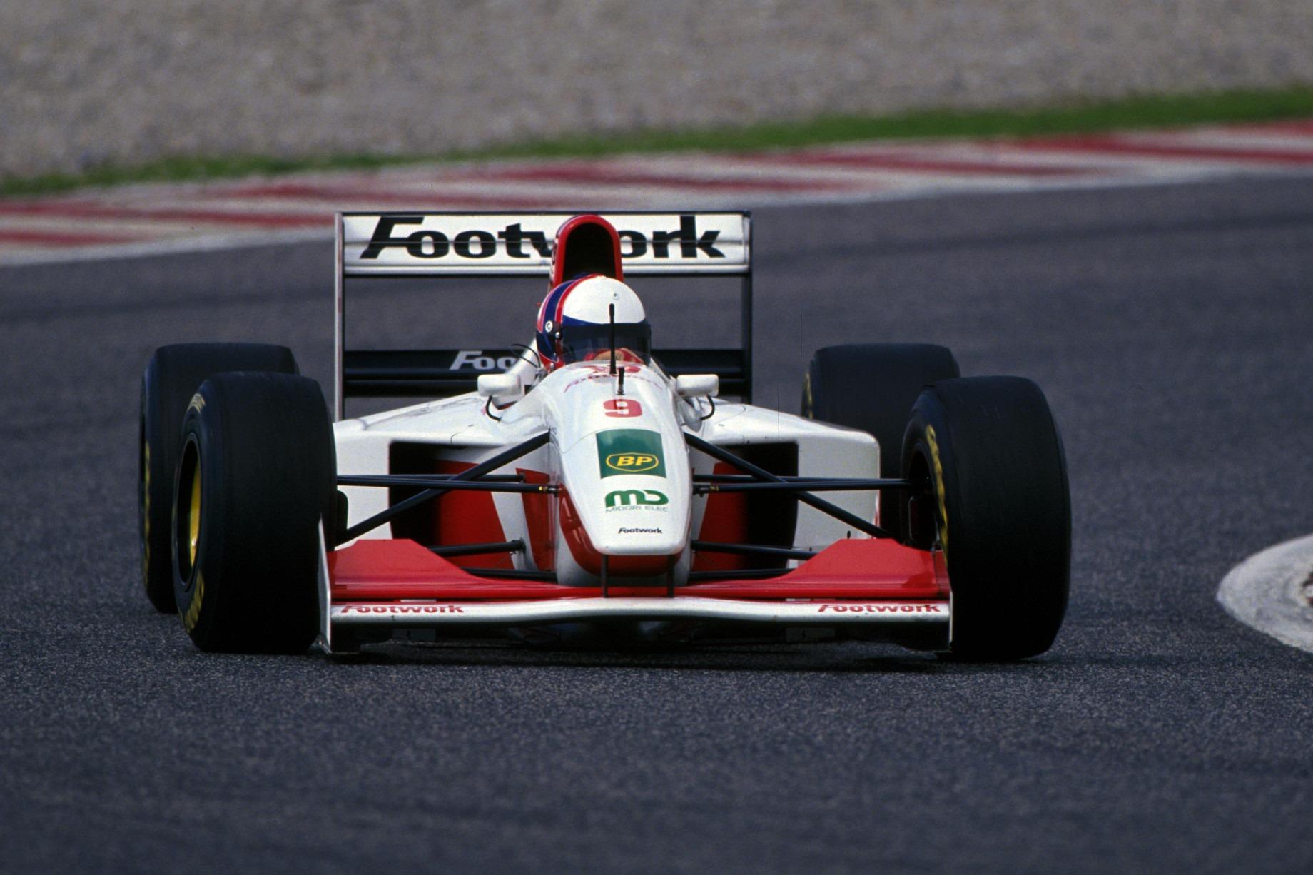 Gil de Ferran, Footwork test 1993