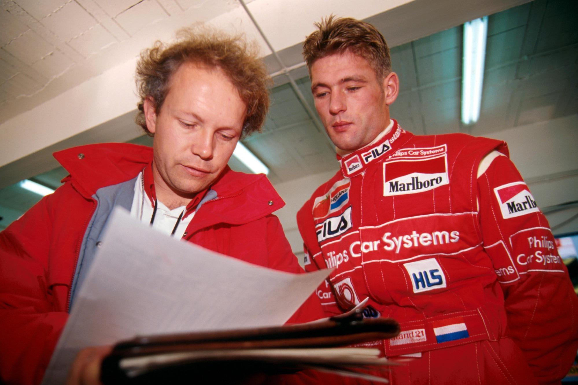 Jos Verstappen, Footwork test 1993