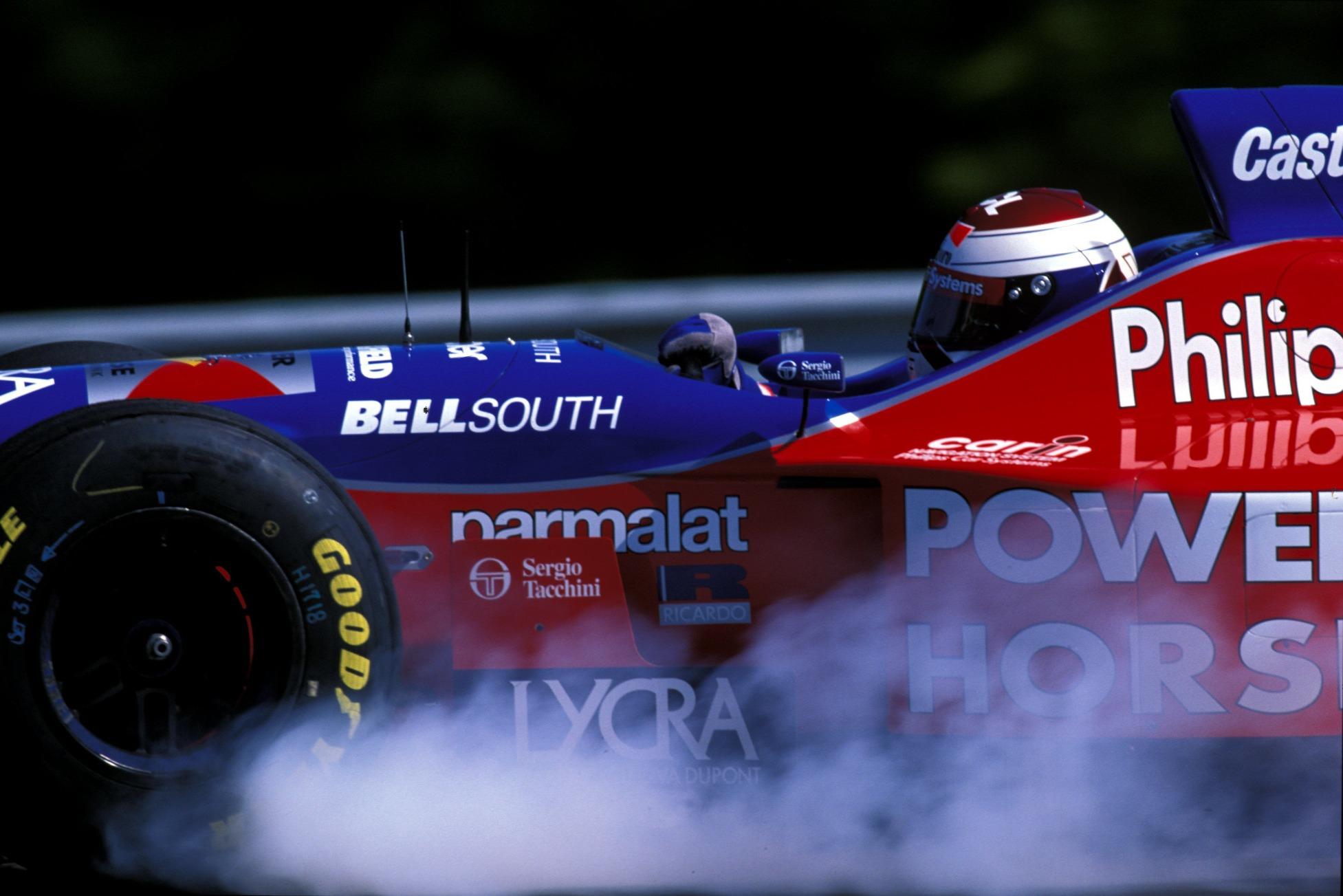 Jos Verstappen, 1996 Footwork