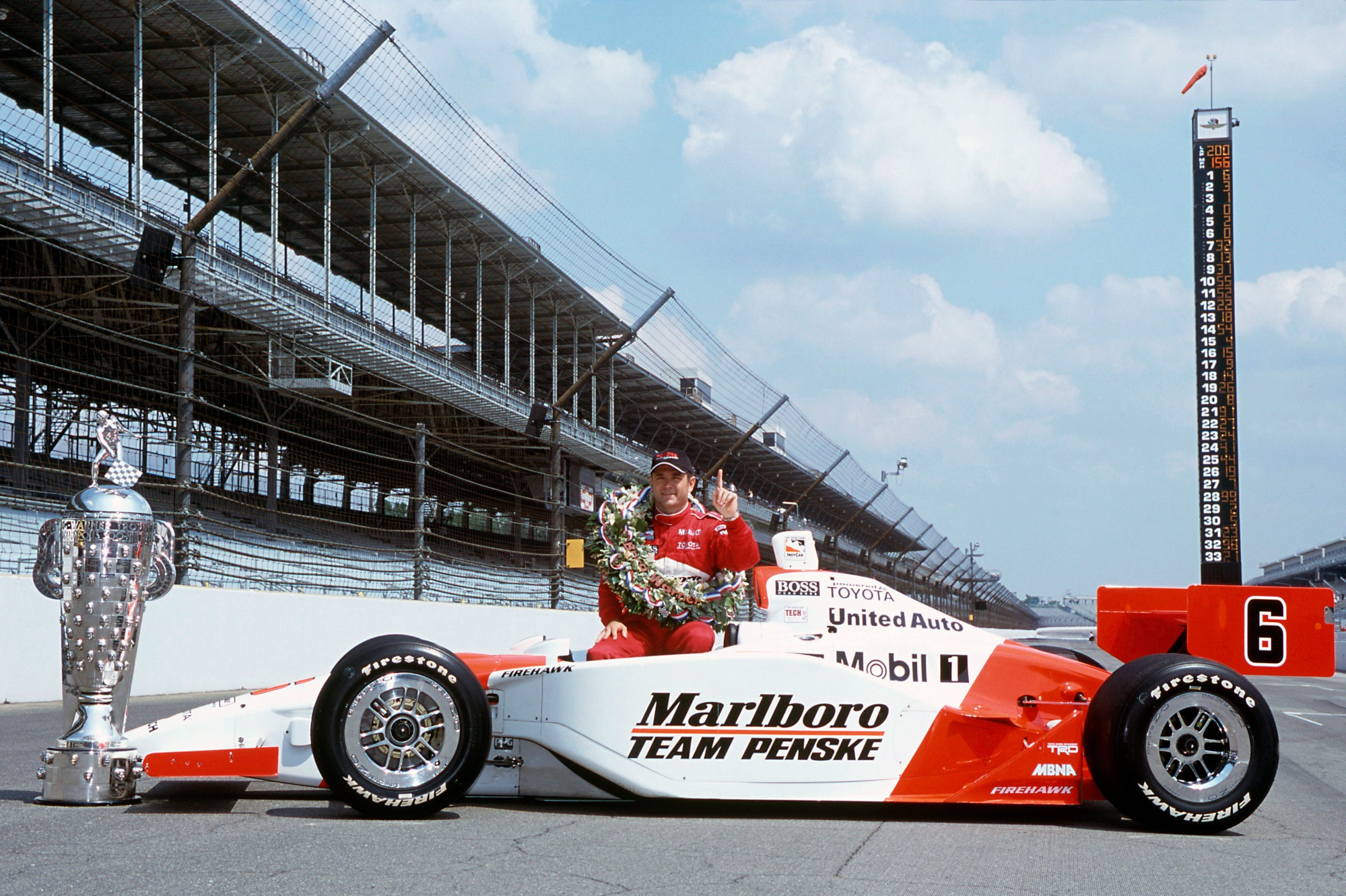 Gil de Ferran, 2003 Indianapolis 500 winner