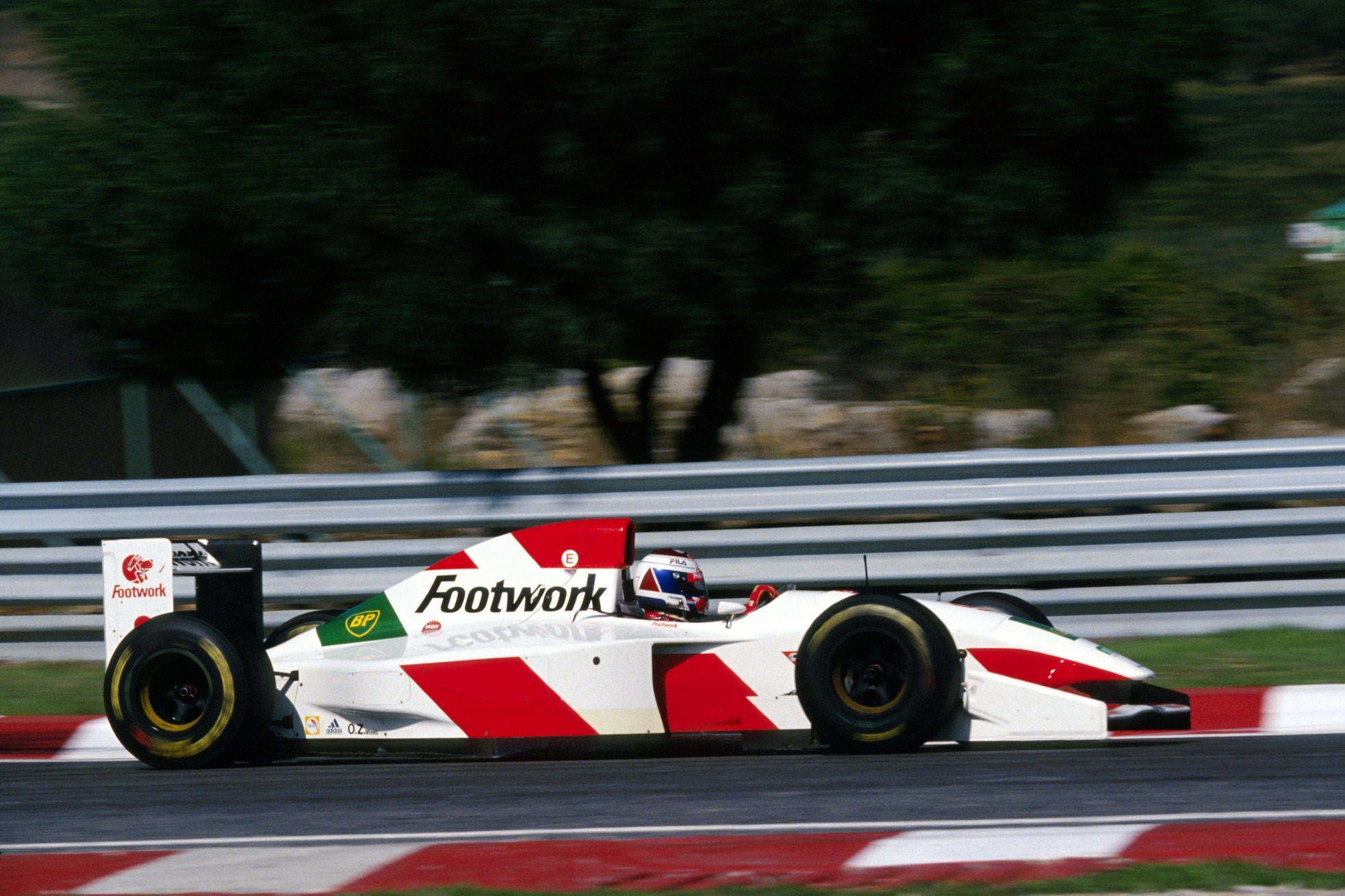 Jos Verstappen, 1993 Footwork test