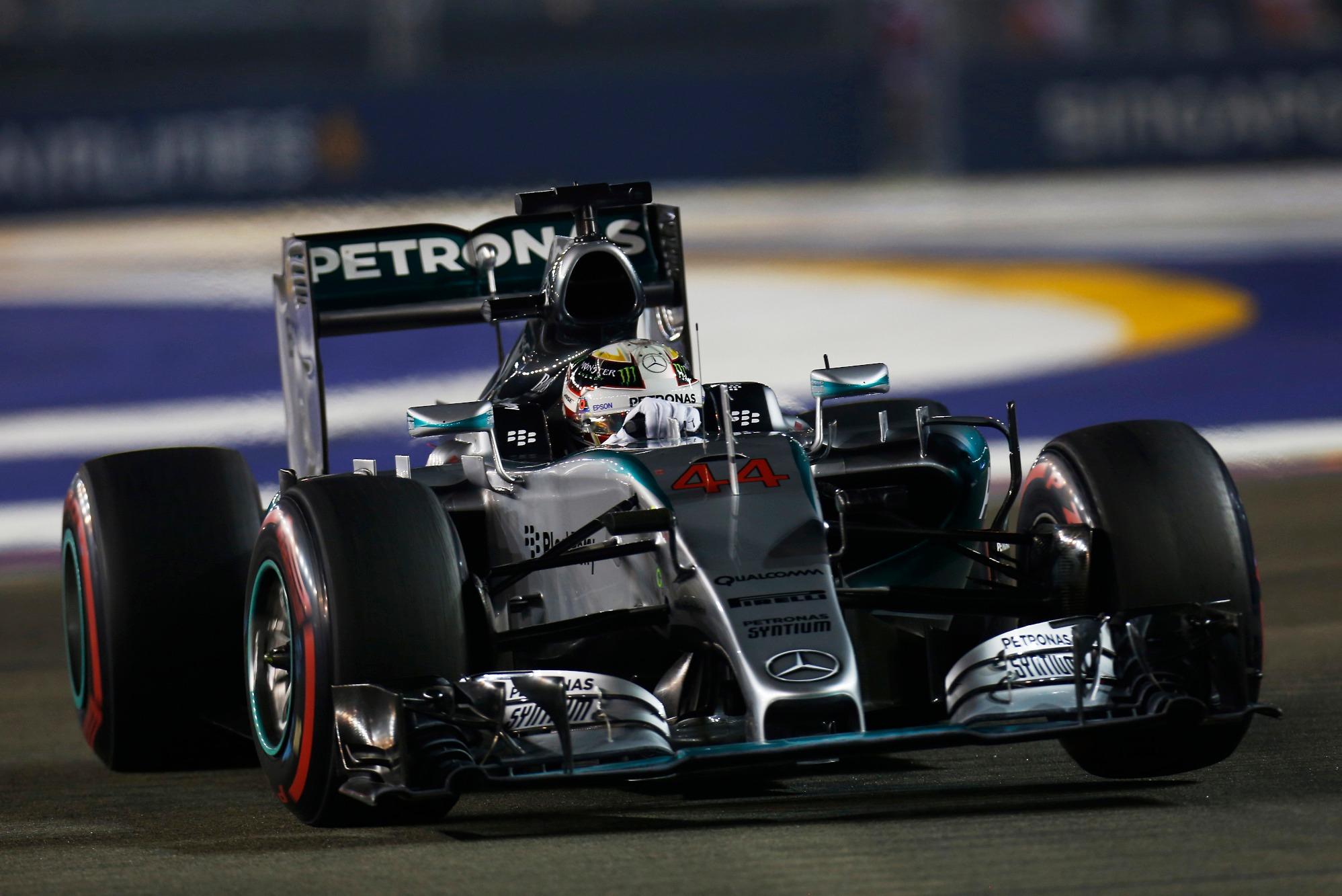 Lewis Hamilton, 2015 Singapore GP