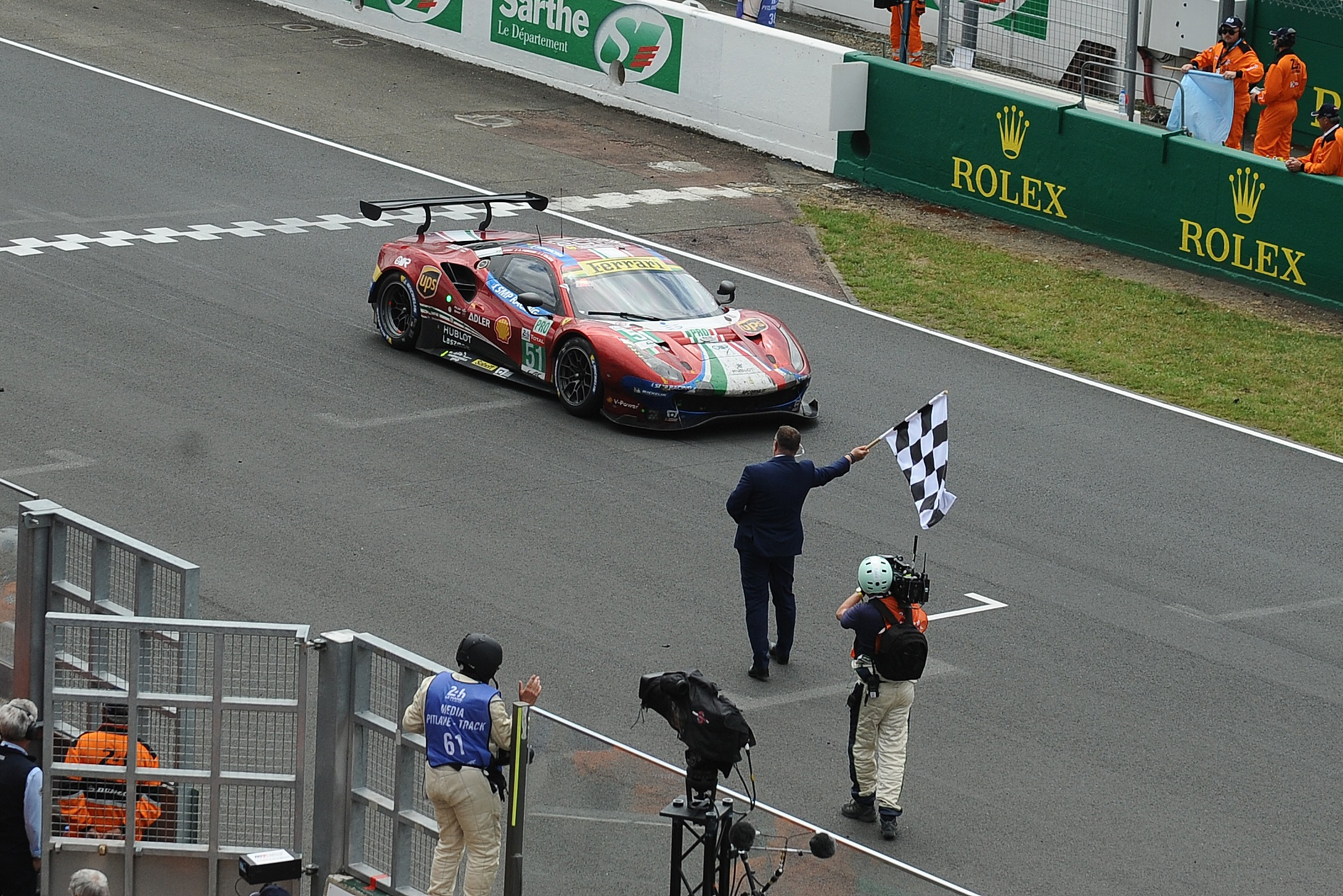 Ferrari's most recent Le Mans success in the GTE-Pro class with AF Corse came in 2019