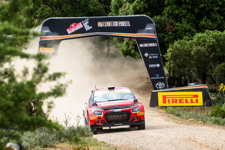 Mads Ostberg, Rally Sardinia