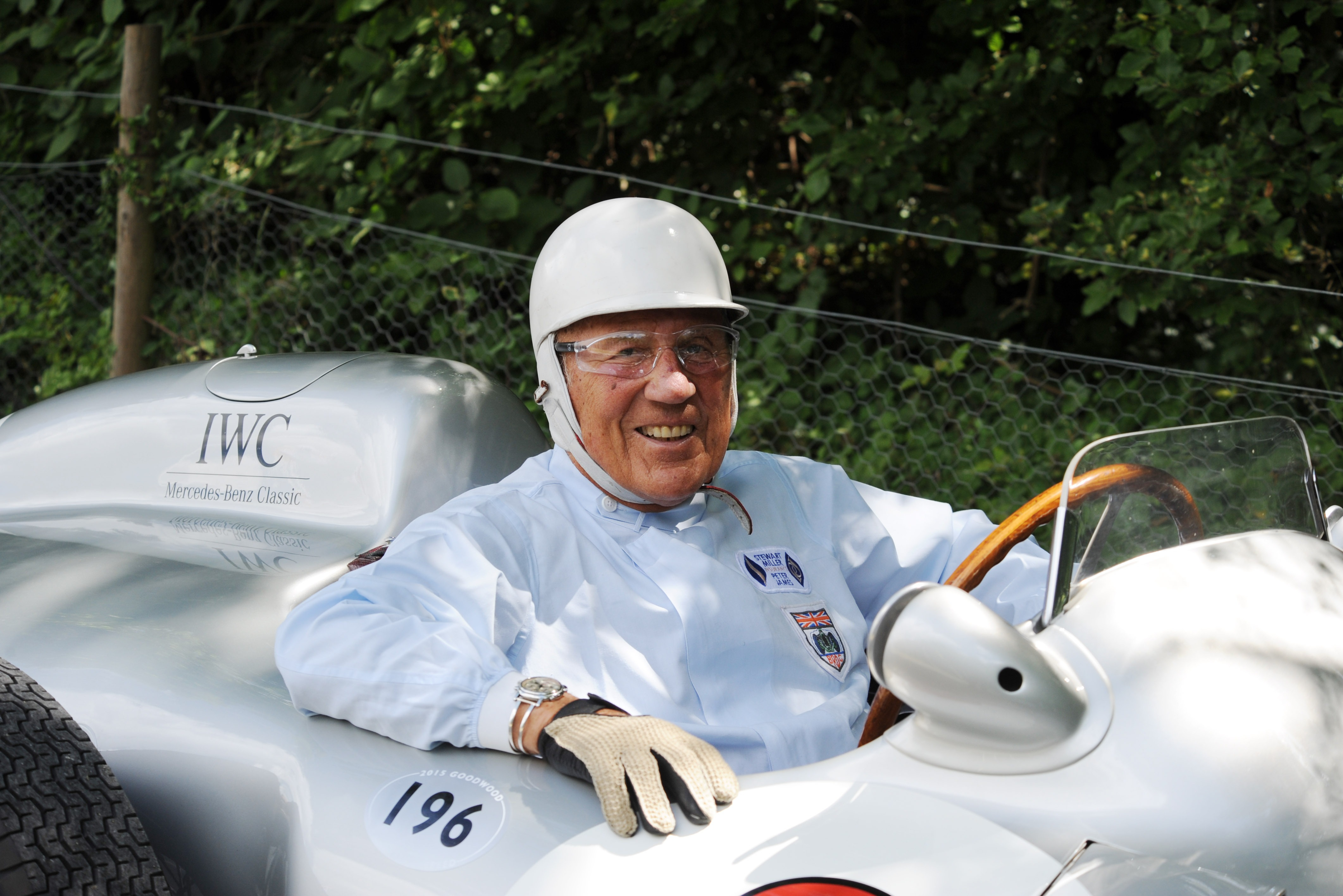 Stirling Moss was a regular visitor to the Goodwood Revival.