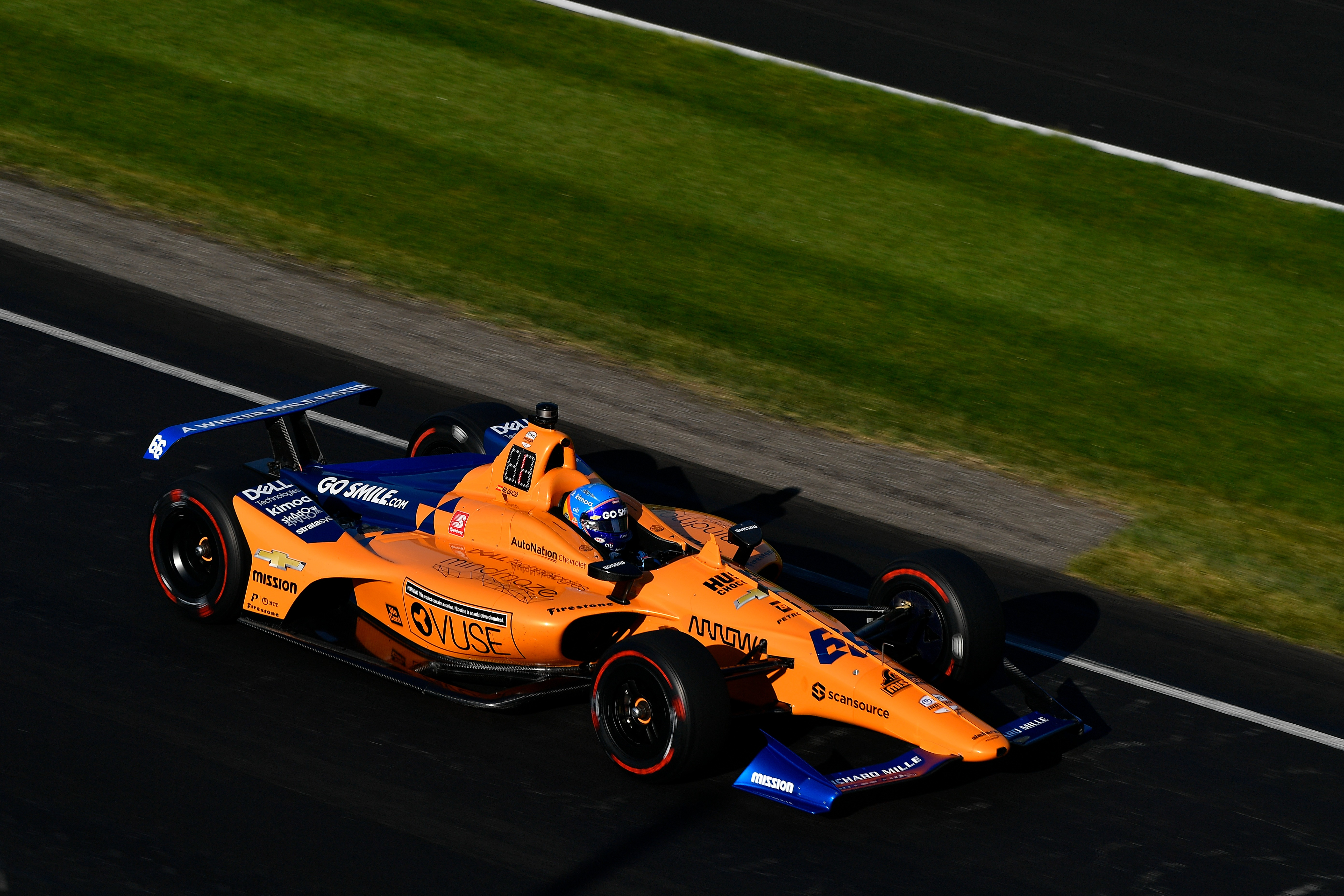 Fernando Alonso failed to qualify for 2019 Indy 500 with McLaren