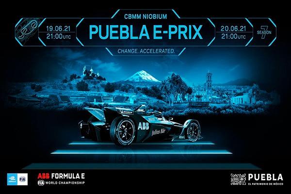 Poster del Puebla e-Prix Fórmula E