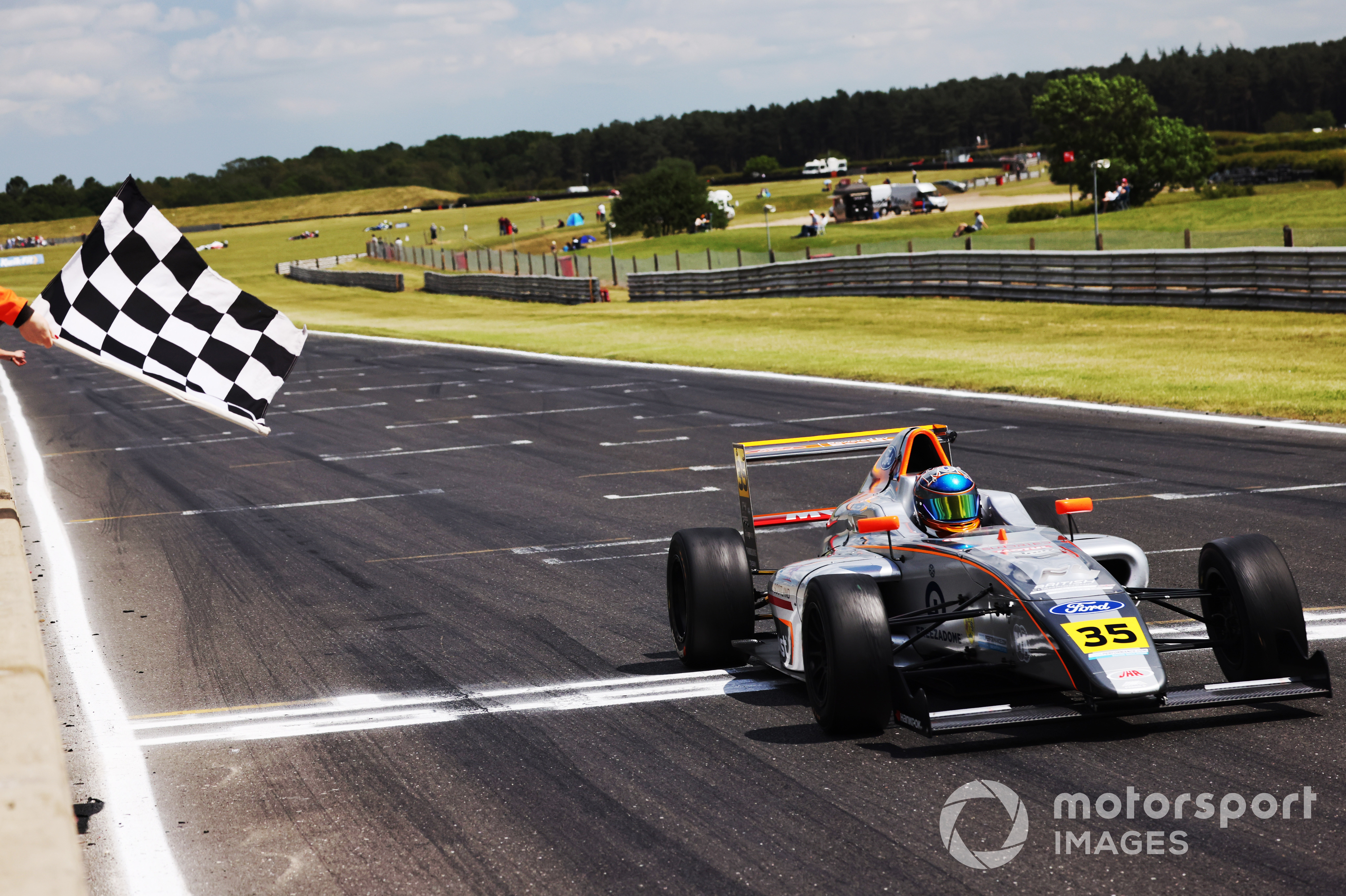 Matthew Rees, British F4, Snetterton 2021