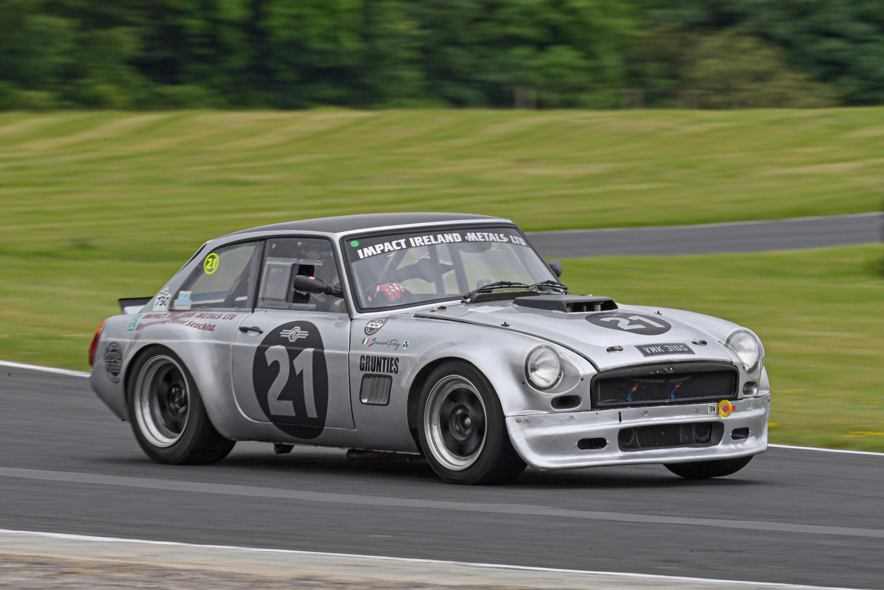 Bernard Foley (MGB GT V8), Mondello Park 2021