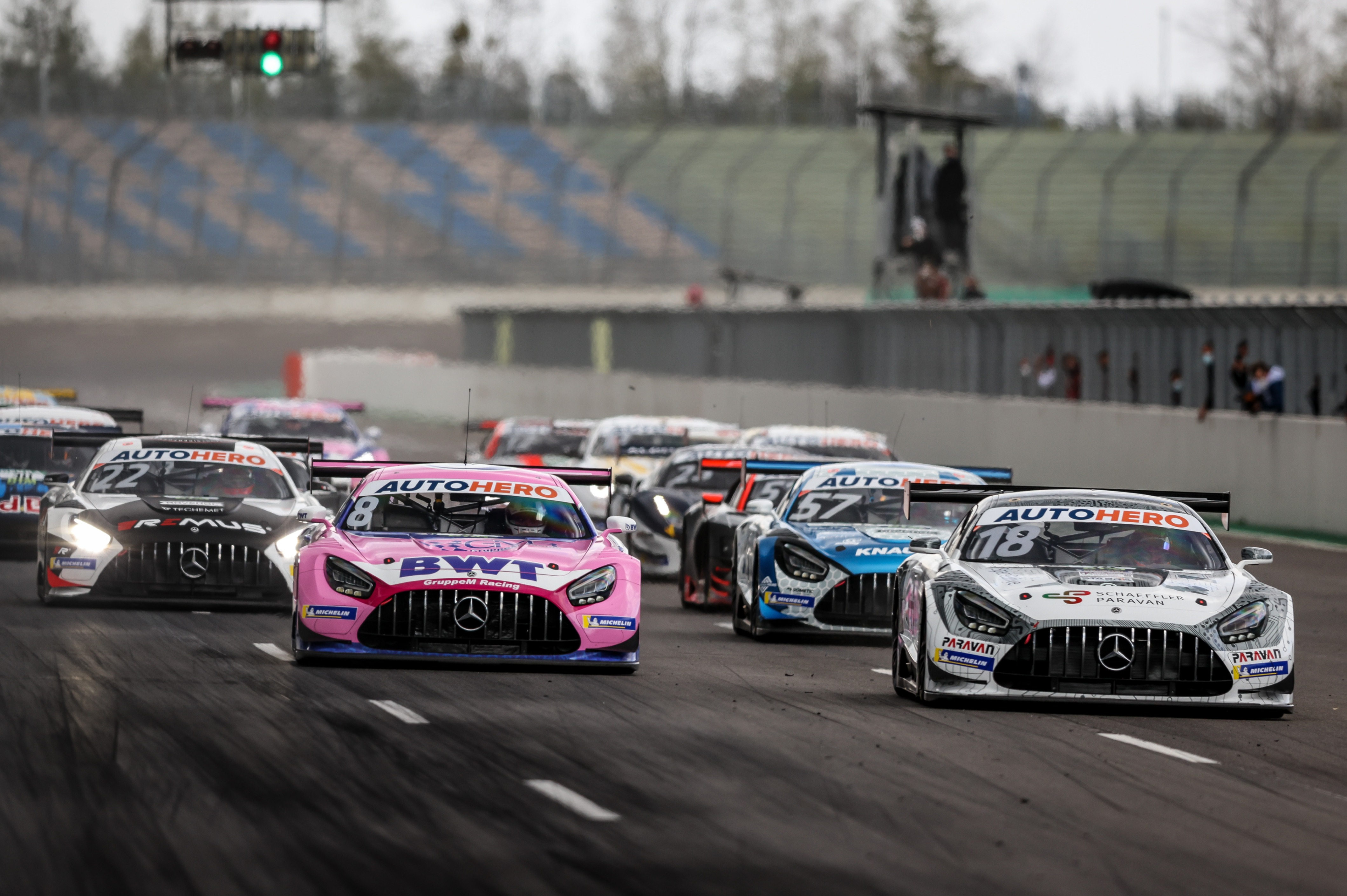 Mercedes returns to the DTM after an absence of two seasons