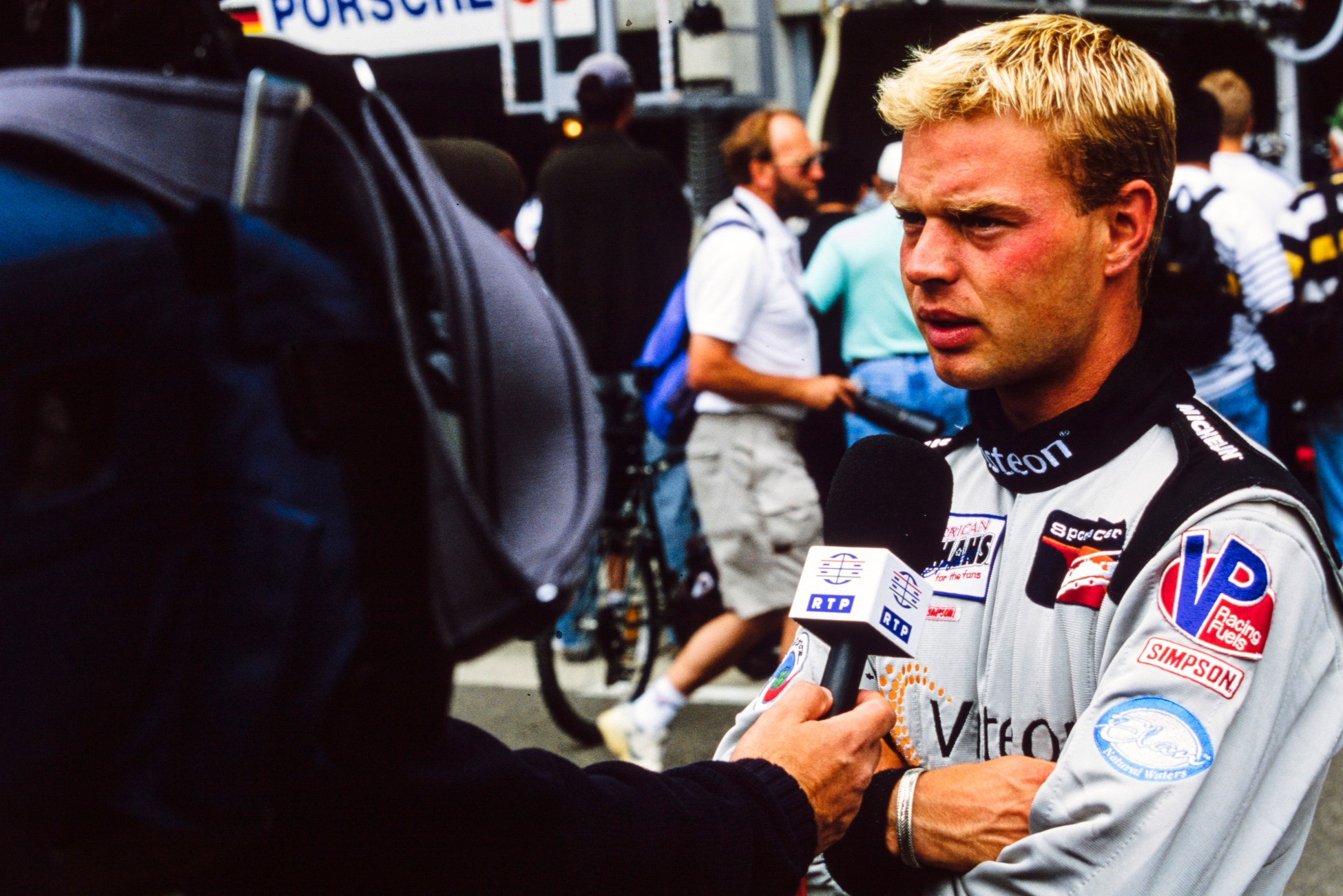 Jan Magnussen gives an interview in 1999