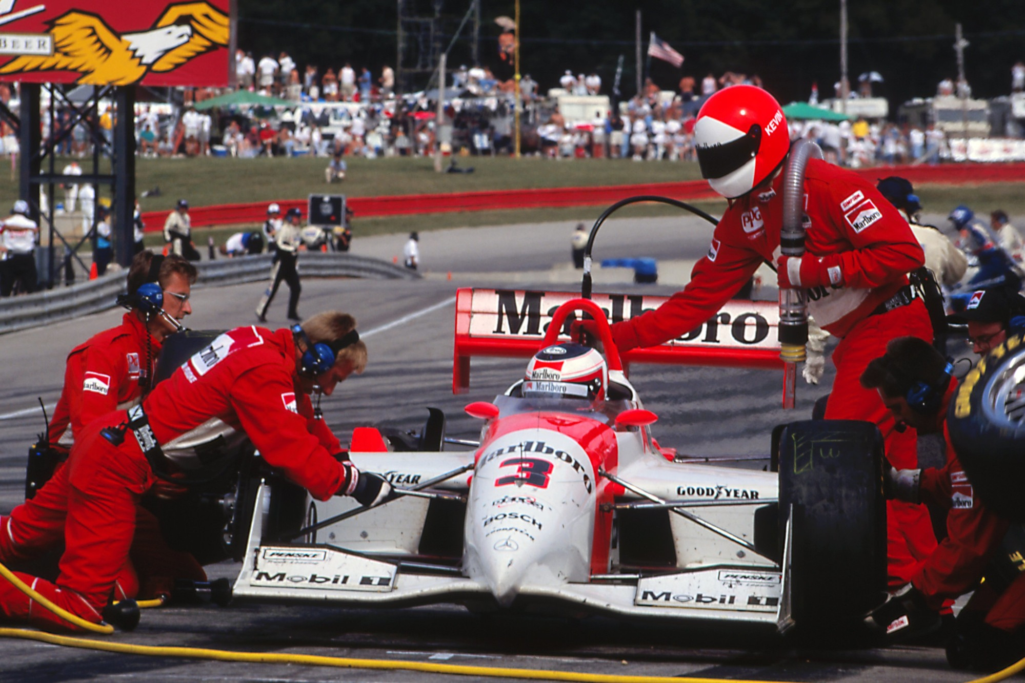 Magnussen had option to stay with Penske for 1997, but turned it down in favour of F1 with Stewart