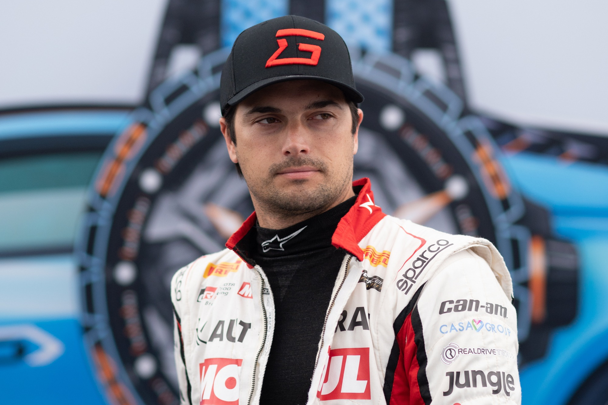 Piquet has resumed his rivalry with Antinucci from British Formula 3 in 2003