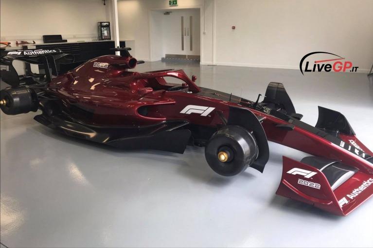 Prototipe mobil F1 2022