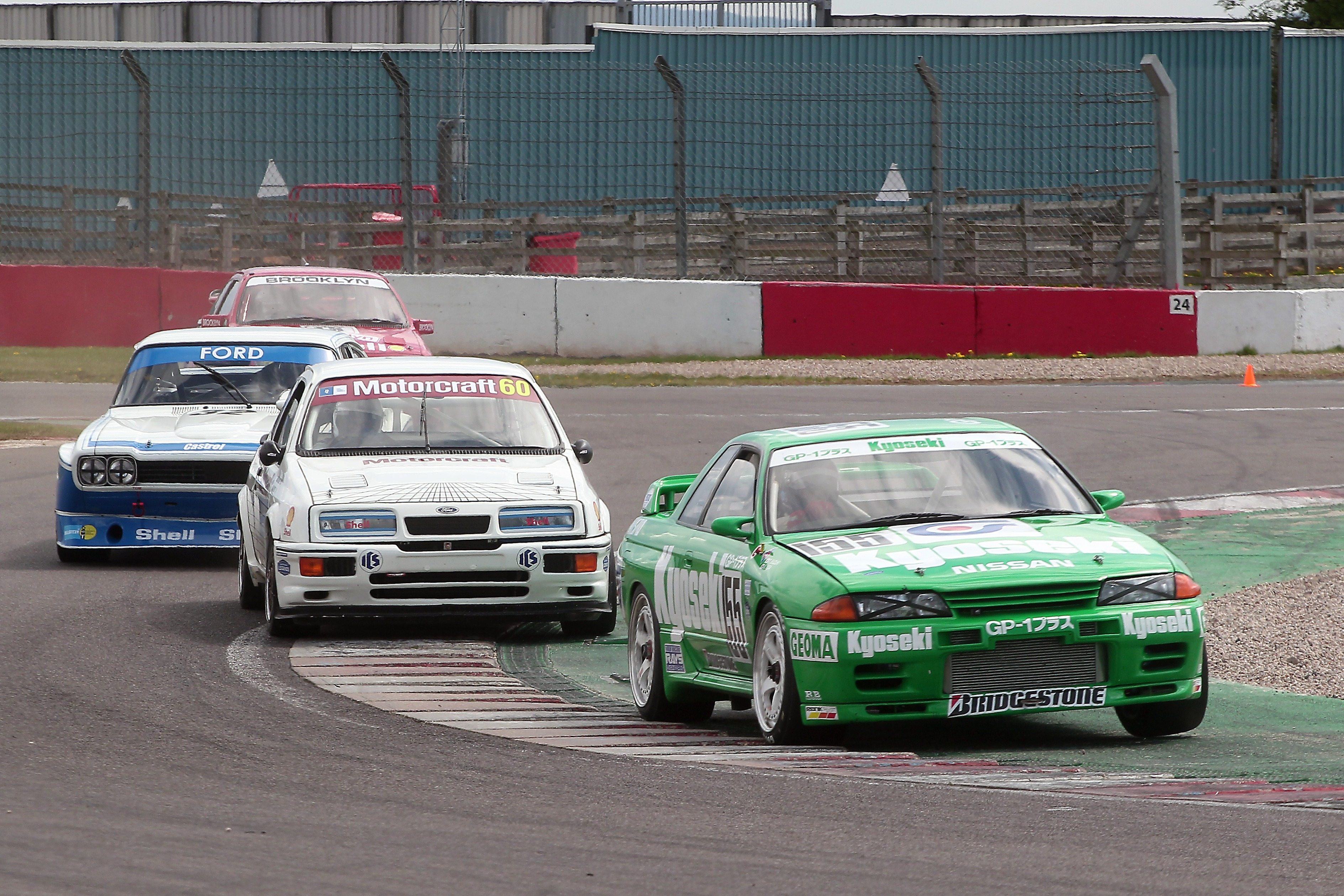 Andy Middlehurst/Jonathan Bailey (Nissan Skyline), Historic Touring Car Challenge, Donington Park 2021