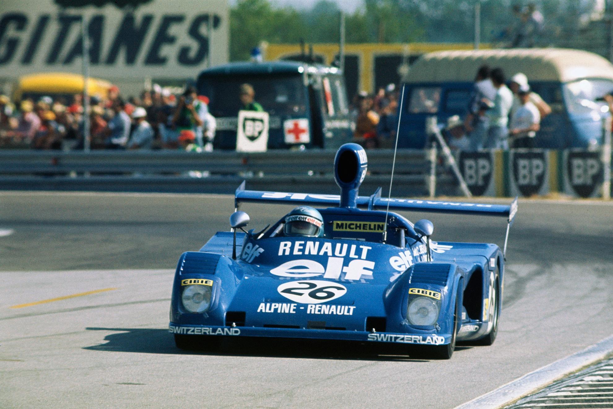 Marie-Claude Beaumont/Lella Lombardi Alpine, 1975 Le Mans 24 Hours