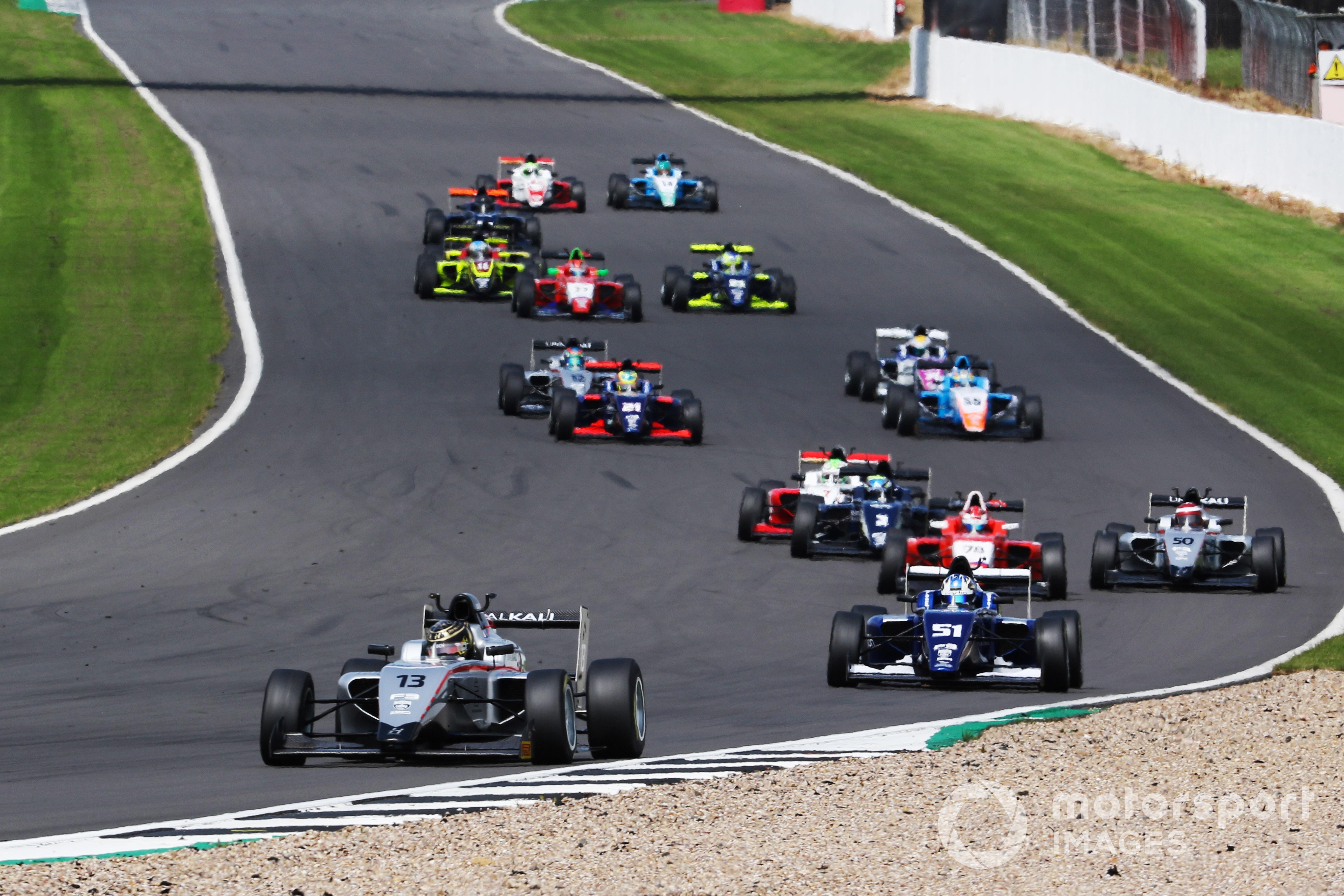 Reece Ushijima, British F3, Silverstone 2021