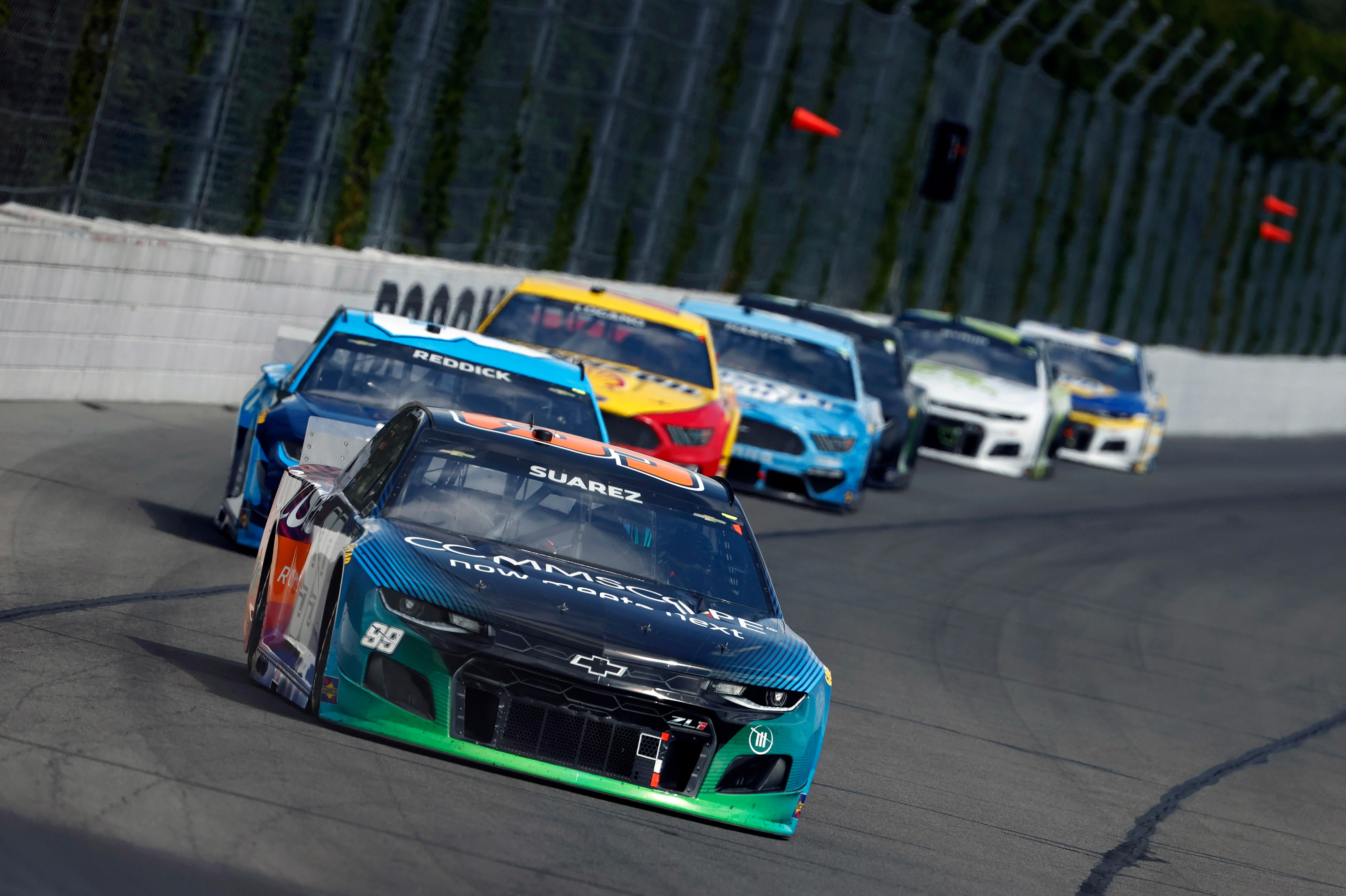 Daniel Suarez has impressed for Trackhouse Racing in NASCAR Cup