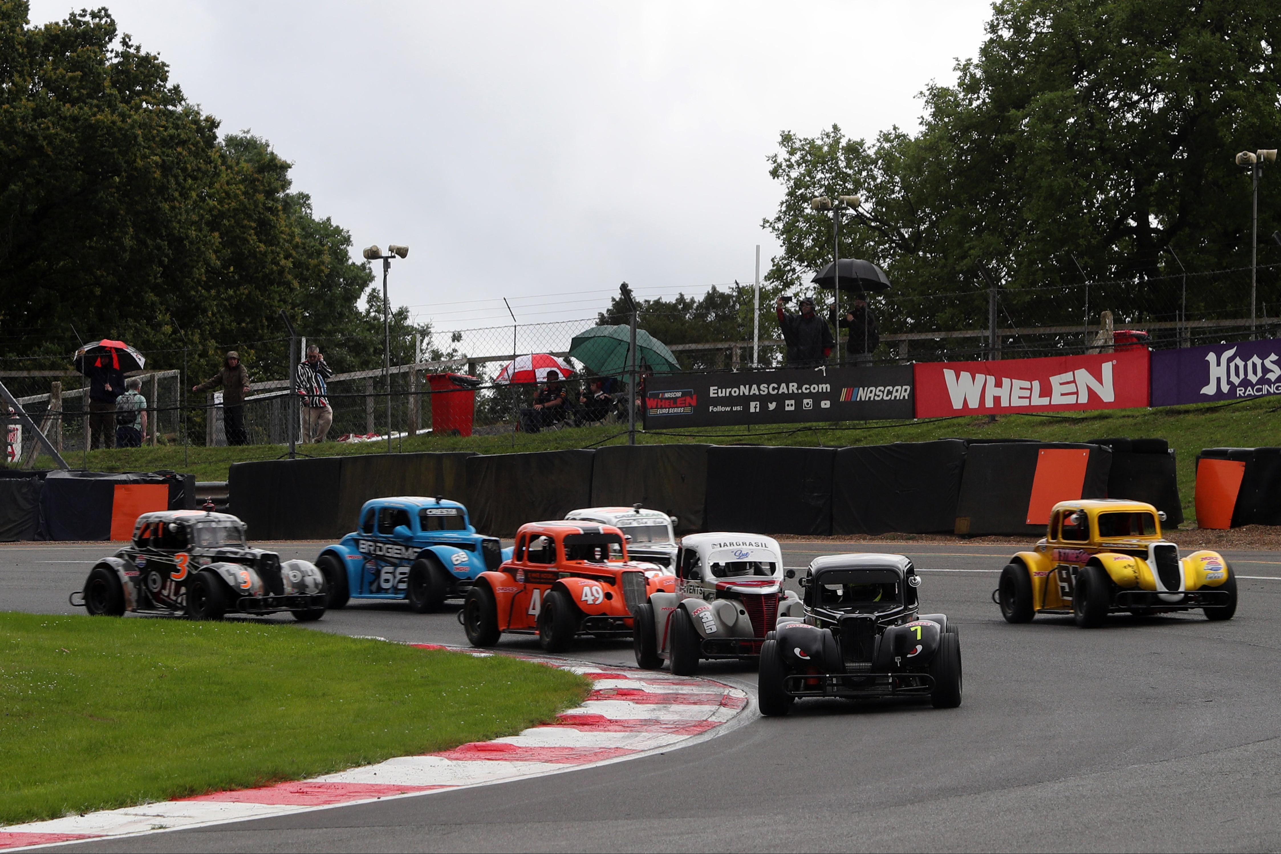 Miles Rudman, Legends, Brands Hatch 2021