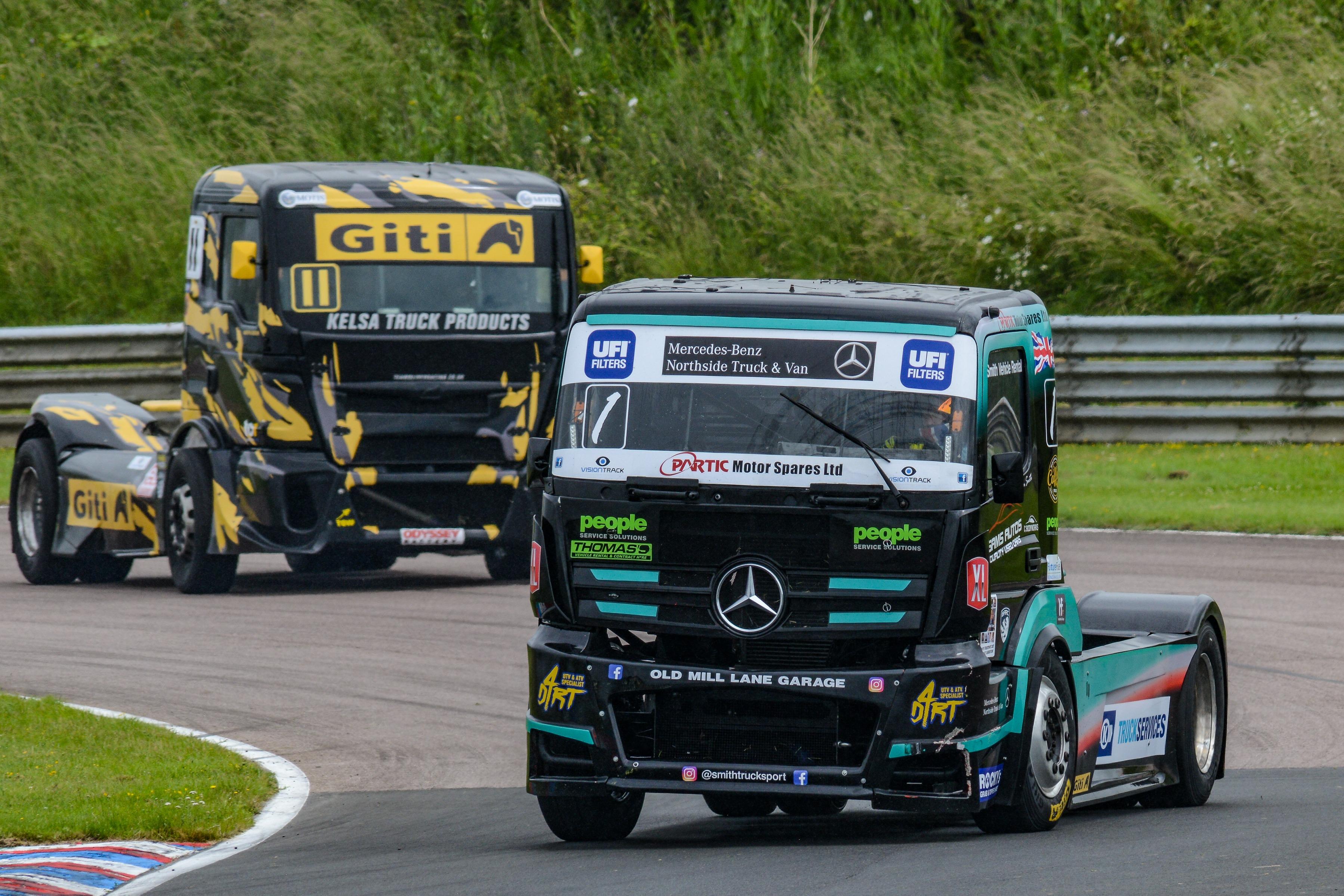 Ryan Smith, British Truck Racing Championship, Thruxton 2021