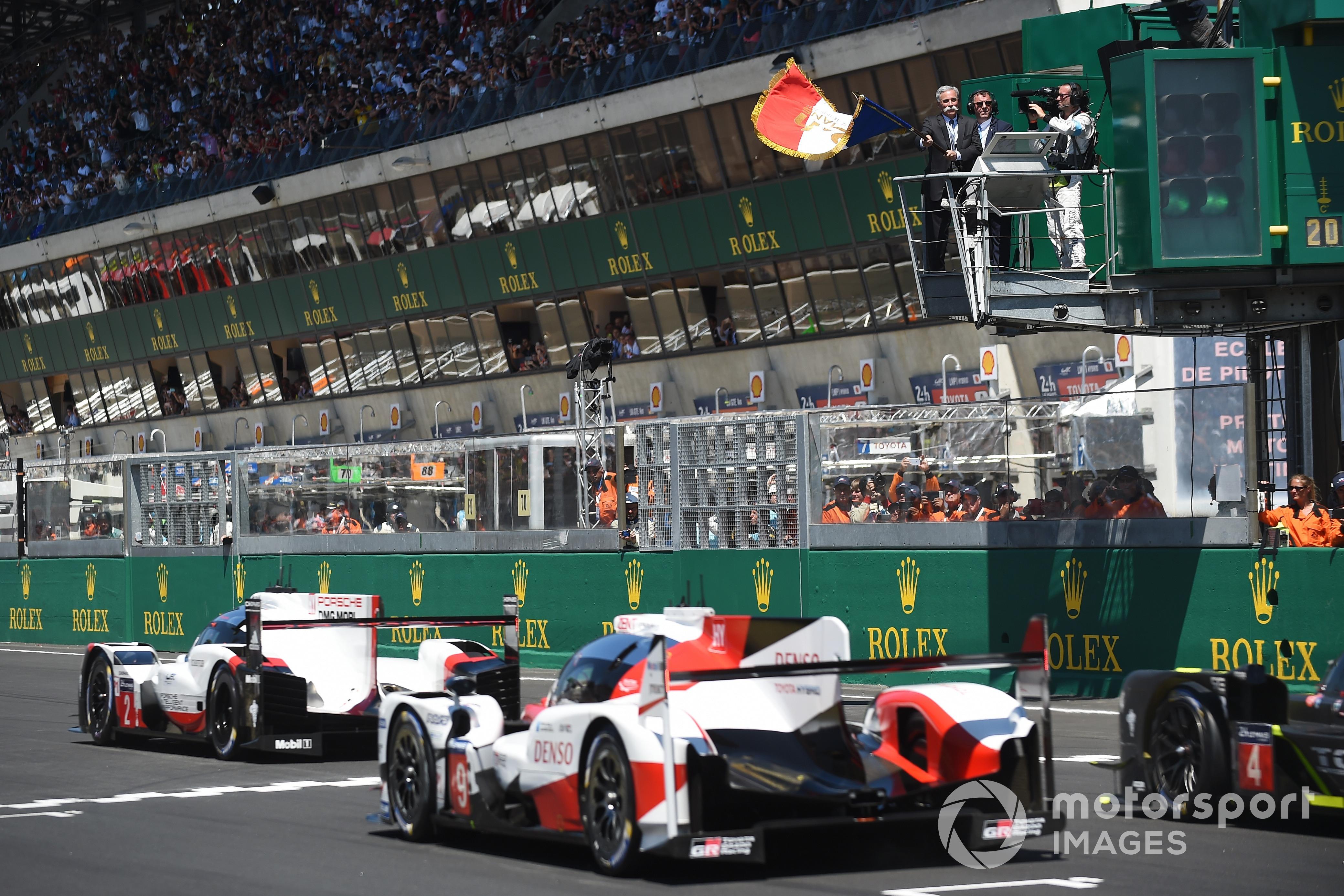Chase Carey, Formula 1 CEO, 2017 Le Mans 24 Saat startı
