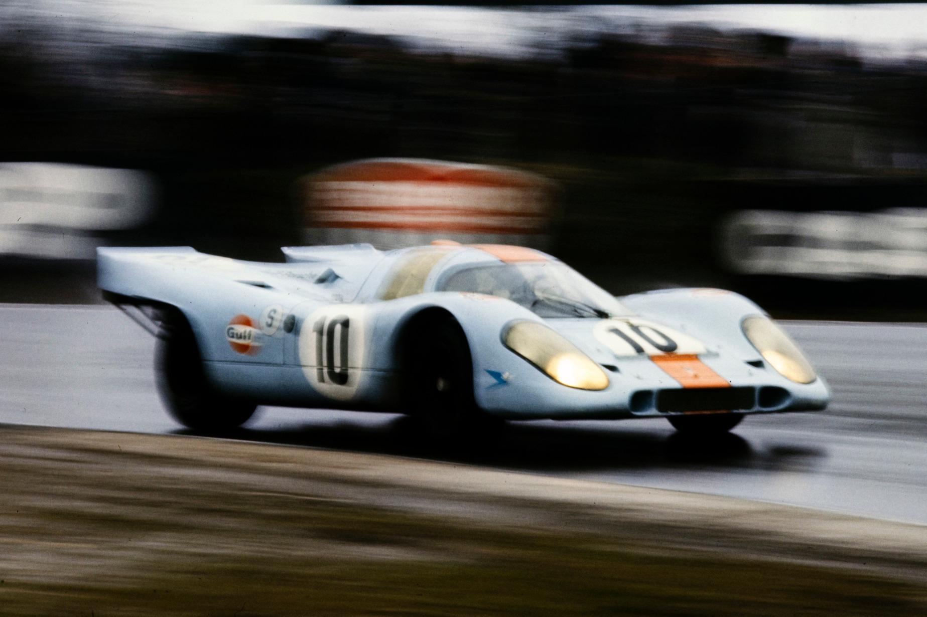 Pedro Rodriguez en acción en Brands Hatch en 1970, quizás su mejor actuación.