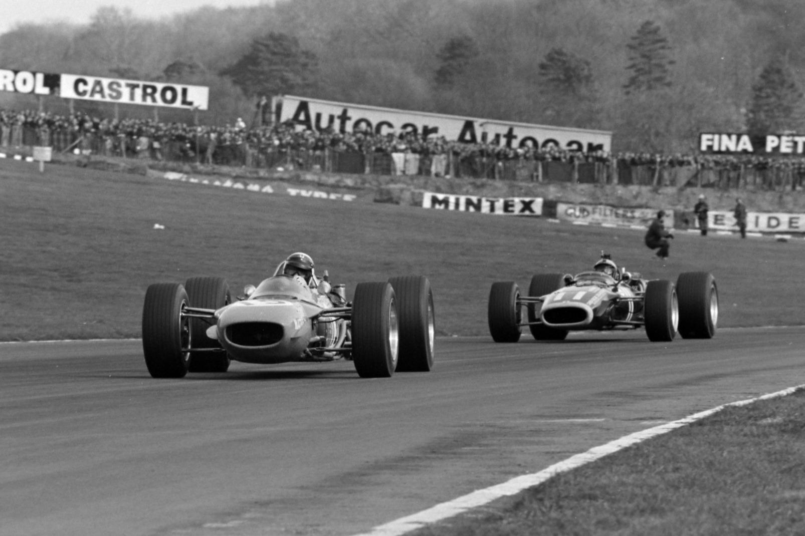Rodriguez a la caza de Stewart, Carrera de Campeones de 1968.