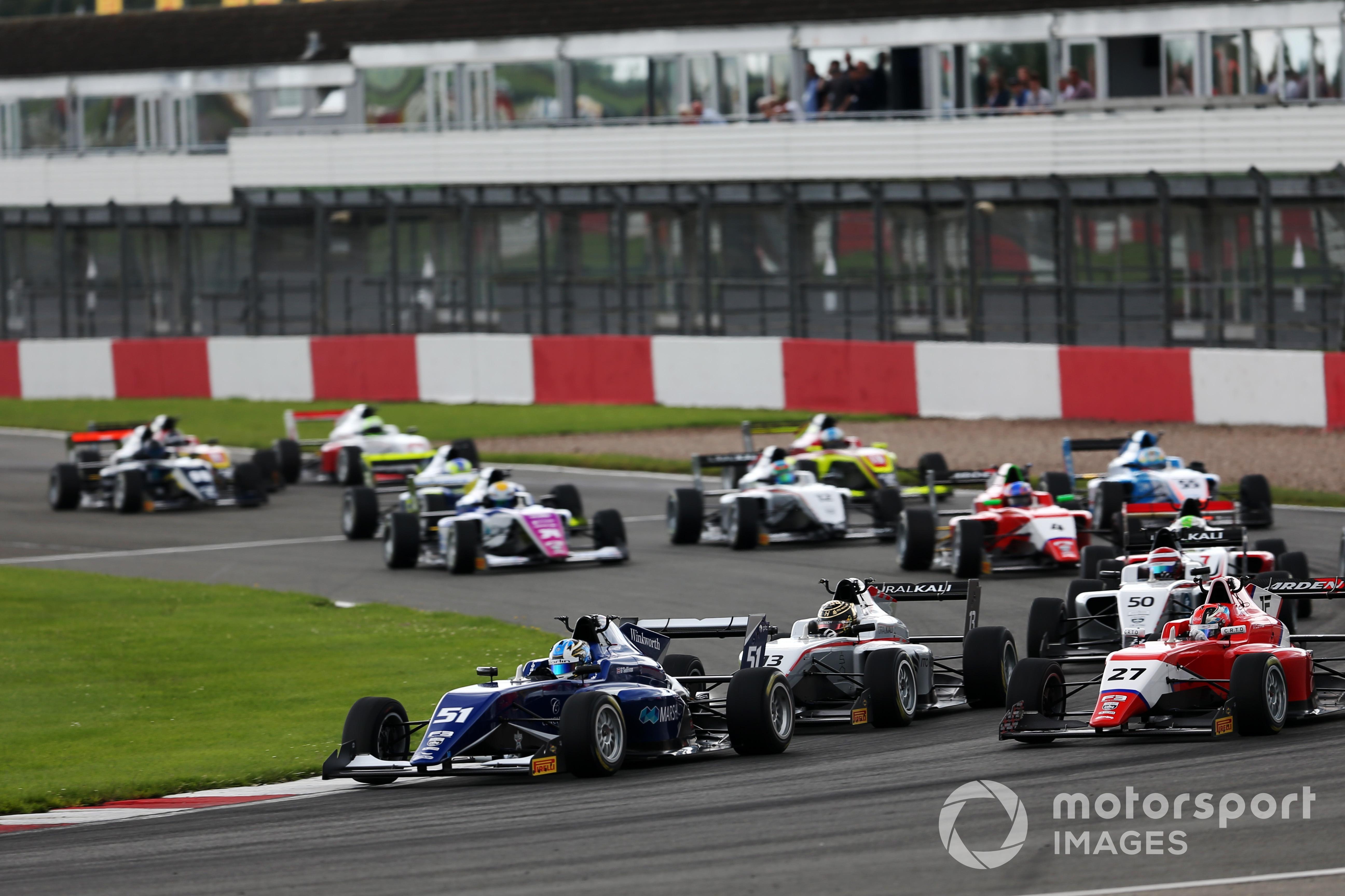 Zak O'Sullivan (Carlin), British F3 Donington Park 2021