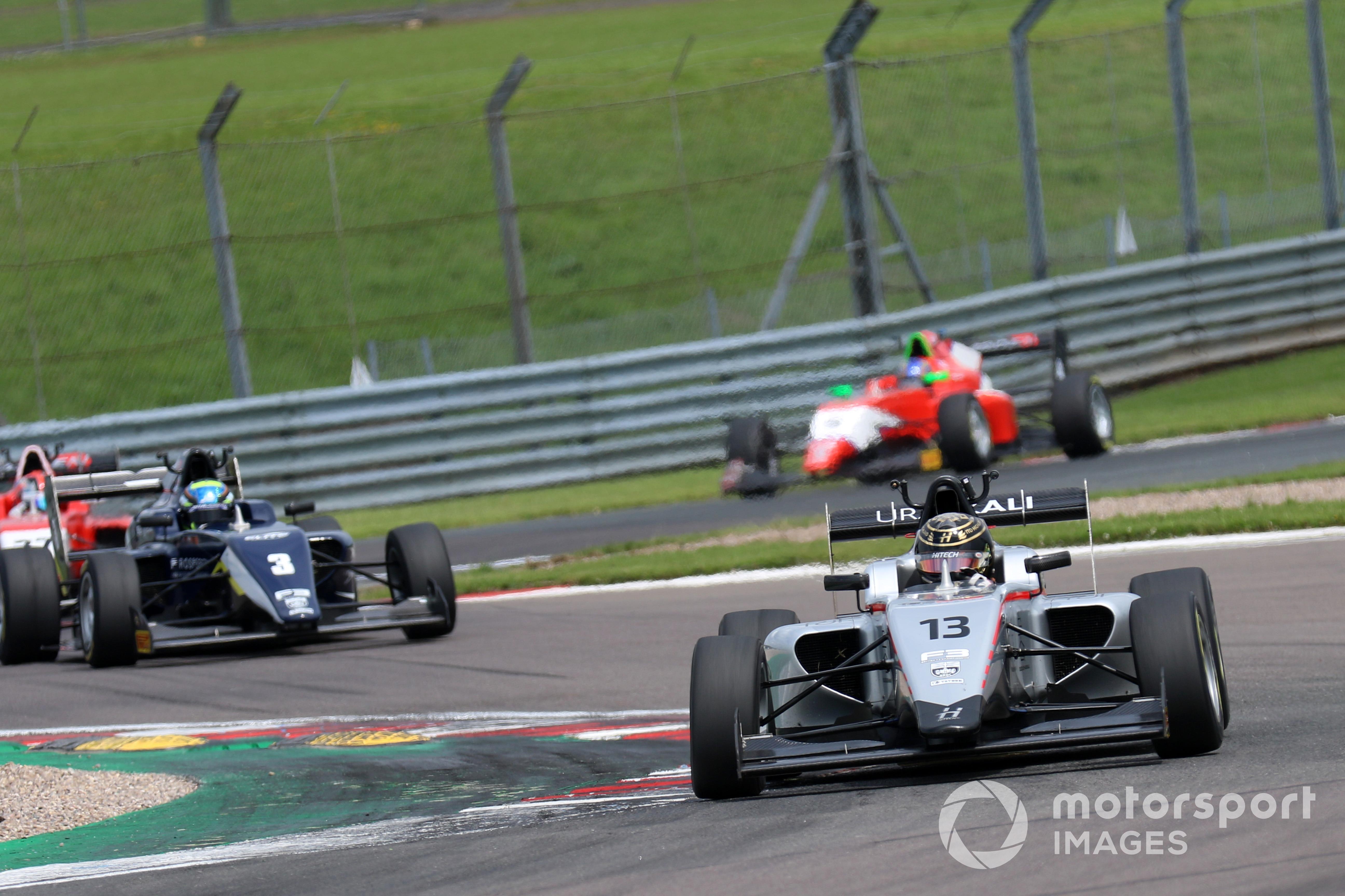 Reece Ushijima (Hitech GP) British F3 Donington Park 2021