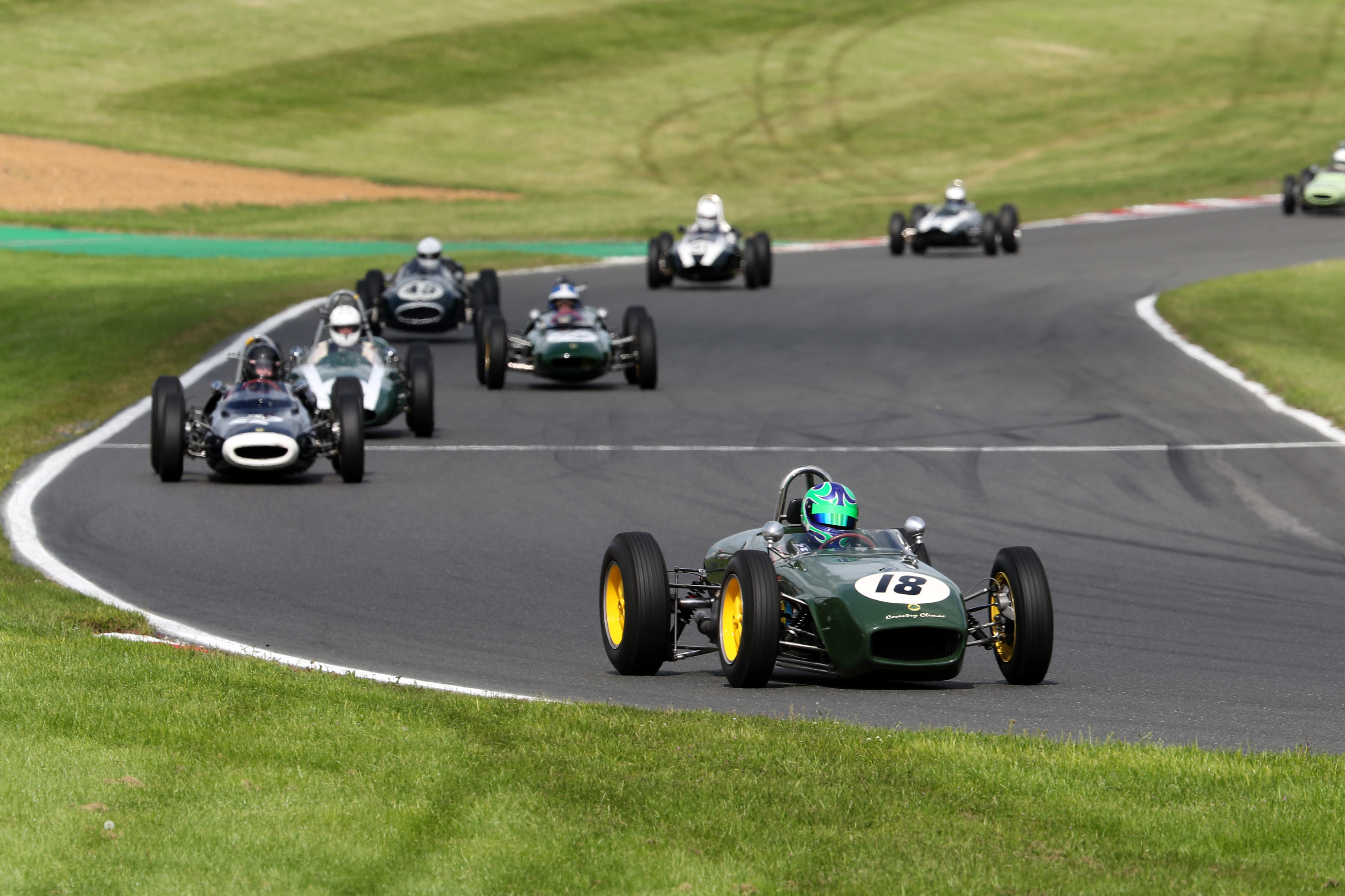 Sam Wilson (Lotus 18), HGPCA, Brands Hatch 2021